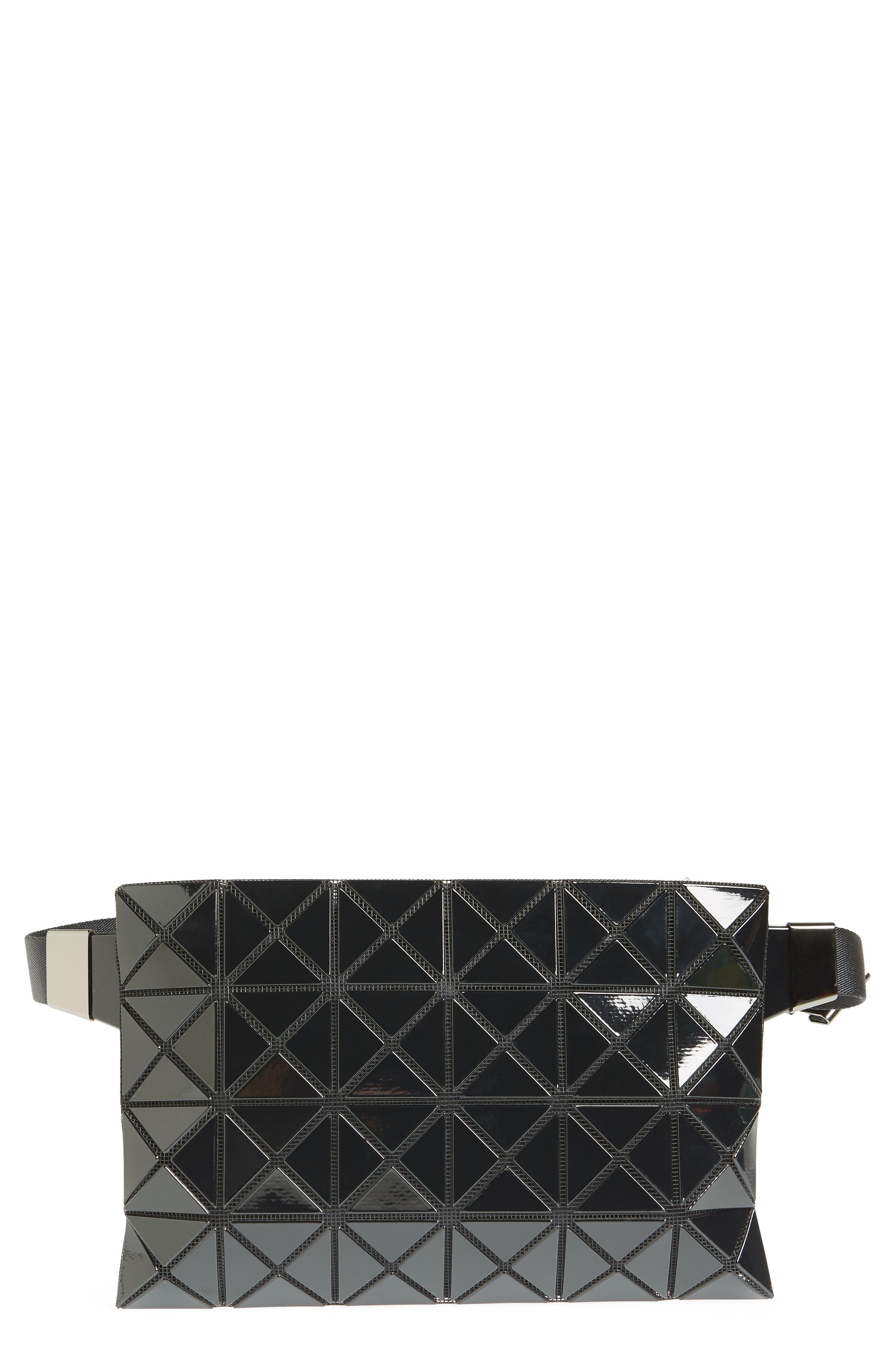 Prism Belt Bag,                             Main thumbnail 1, color,                             BLACK