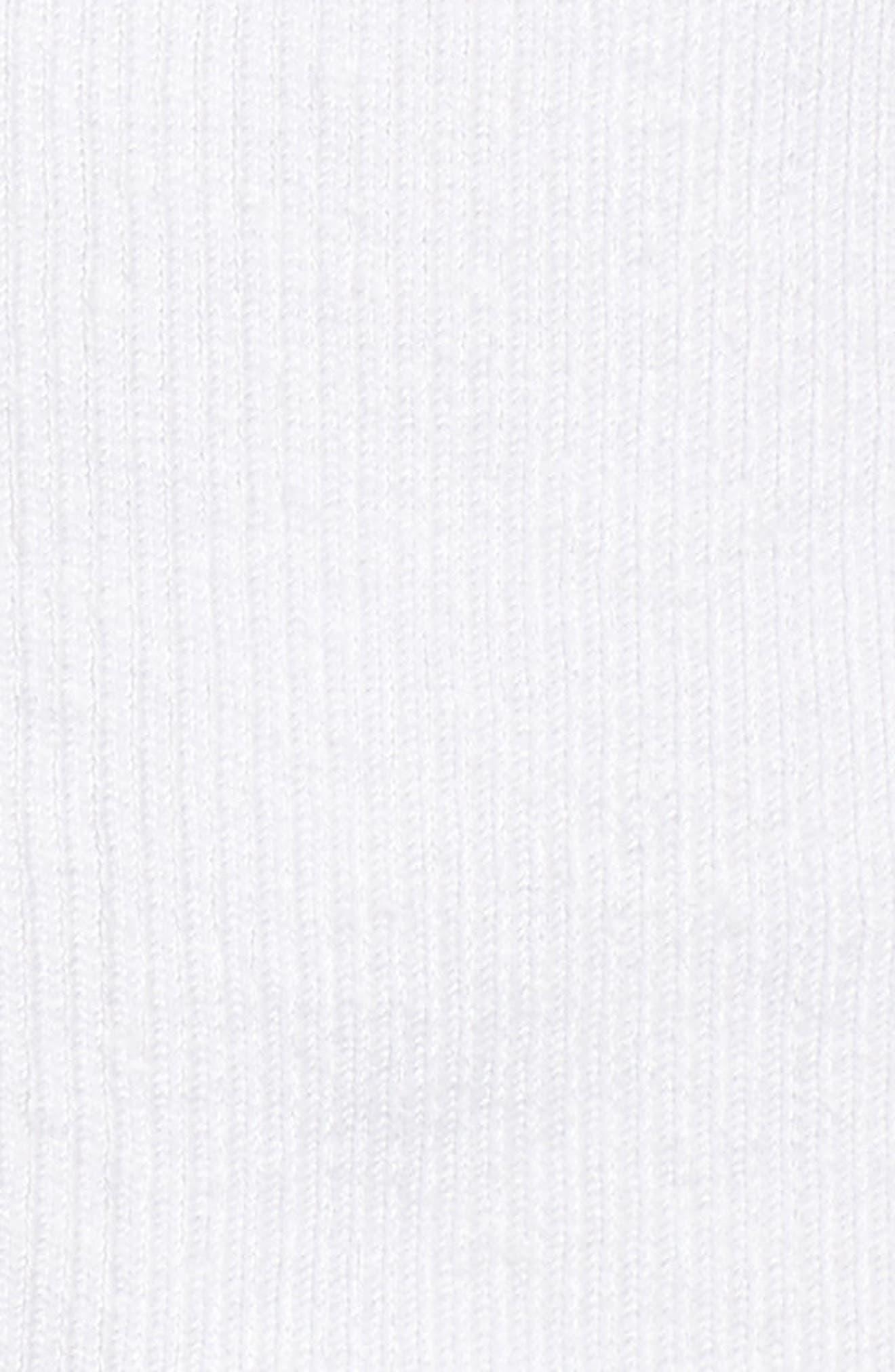 Daybreak Crop Linen Blend Cardigan,                             Alternate thumbnail 5, color,                             PAPER WHITE