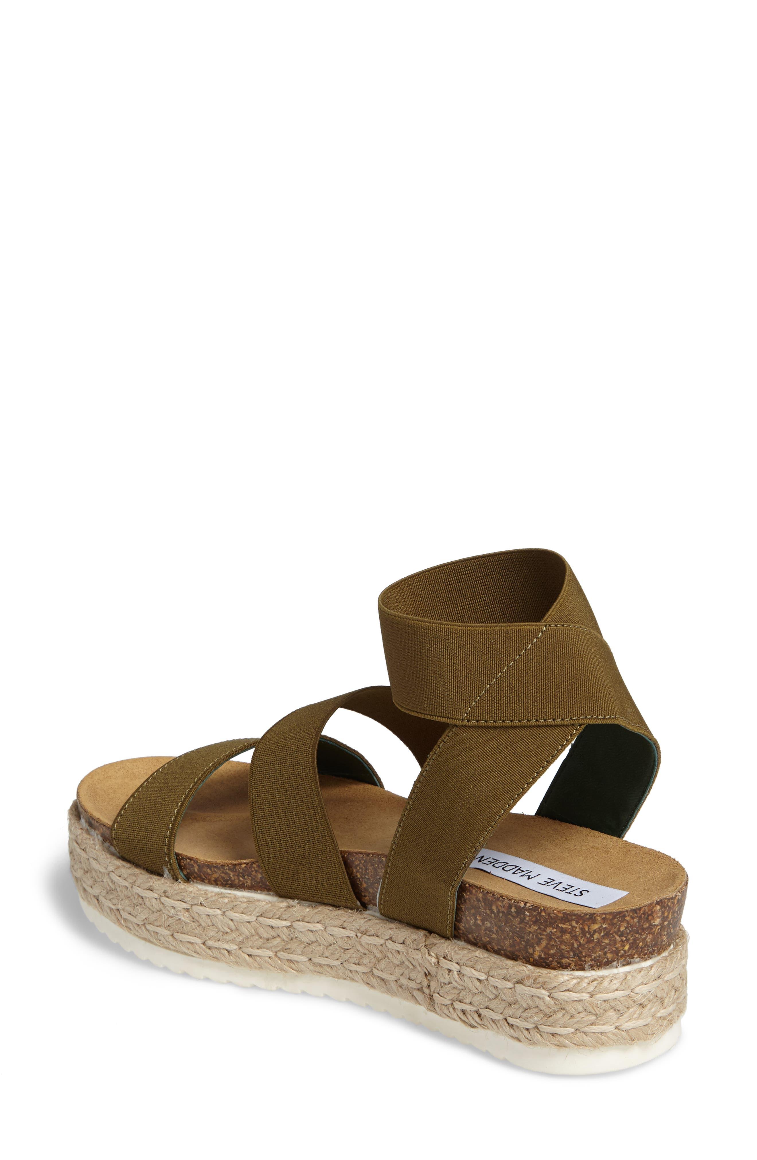 Kimmie Flatform Sandal,                             Alternate thumbnail 6, color,