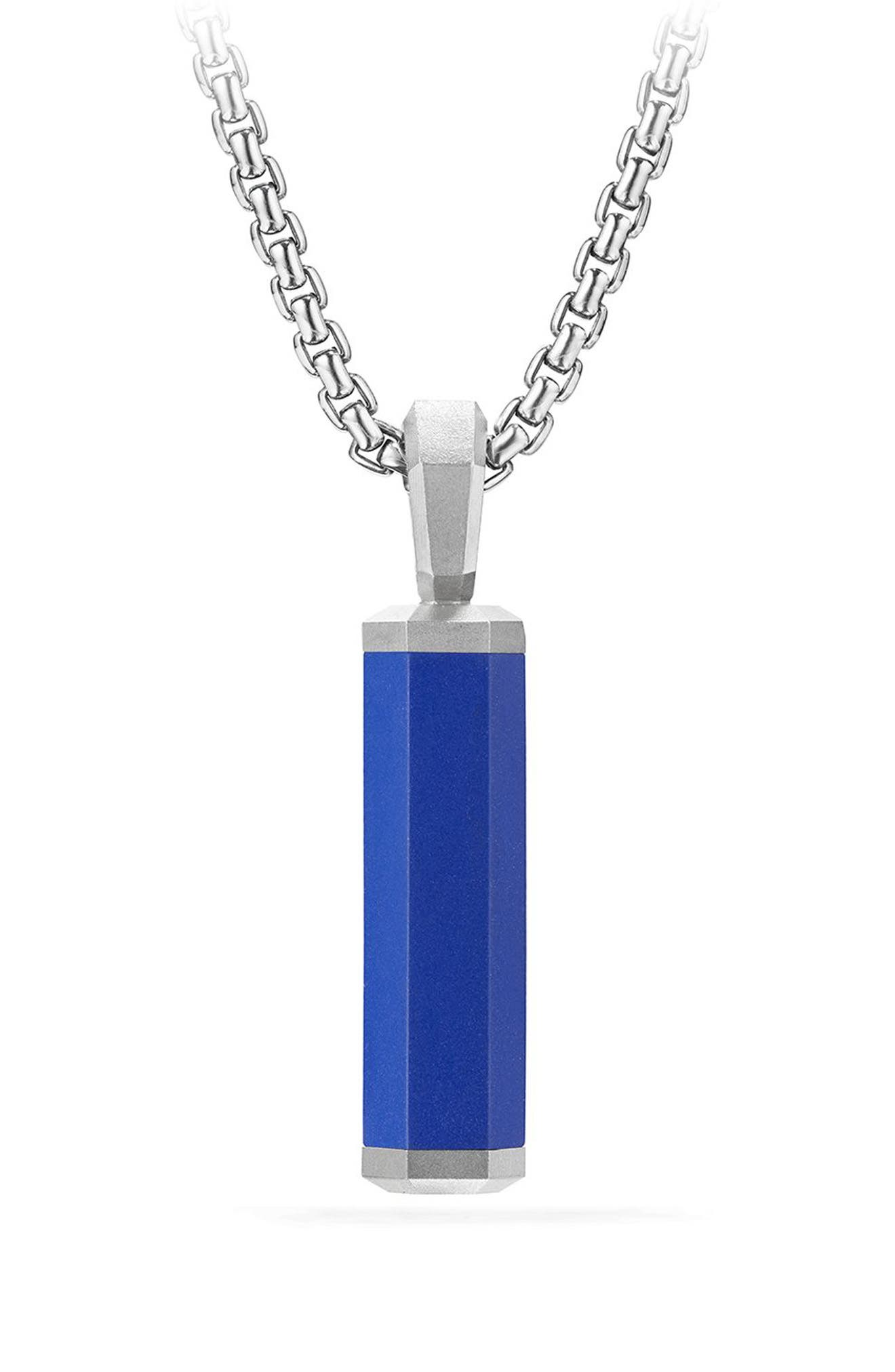 Hex Pendant,                         Main,                         color, BLUE