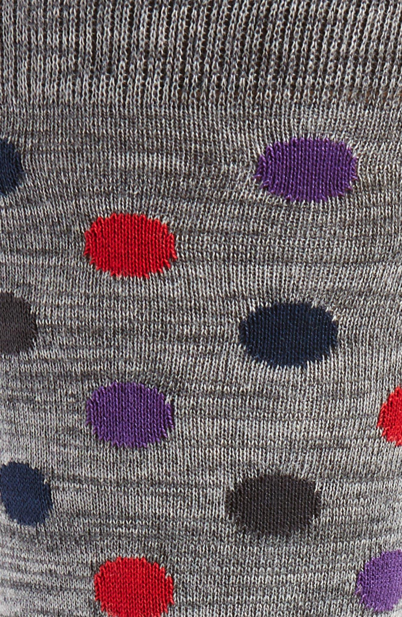 Dot & Stripe Socks,                             Alternate thumbnail 5, color,