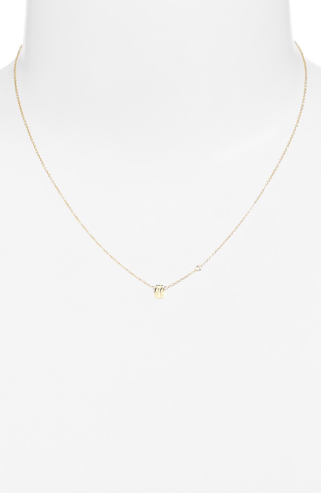 Ladybug Necklace,                             Alternate thumbnail 2, color,                             GOLD