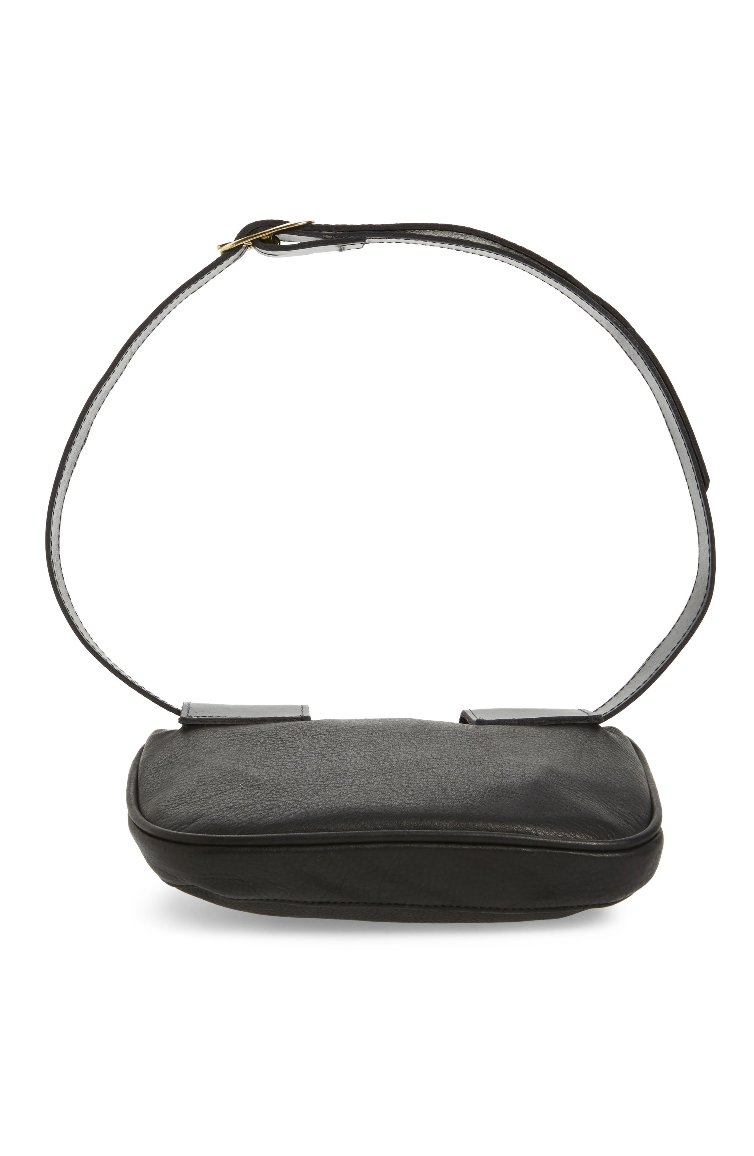 Leather Fanny Pack,                             Alternate thumbnail 11, color,