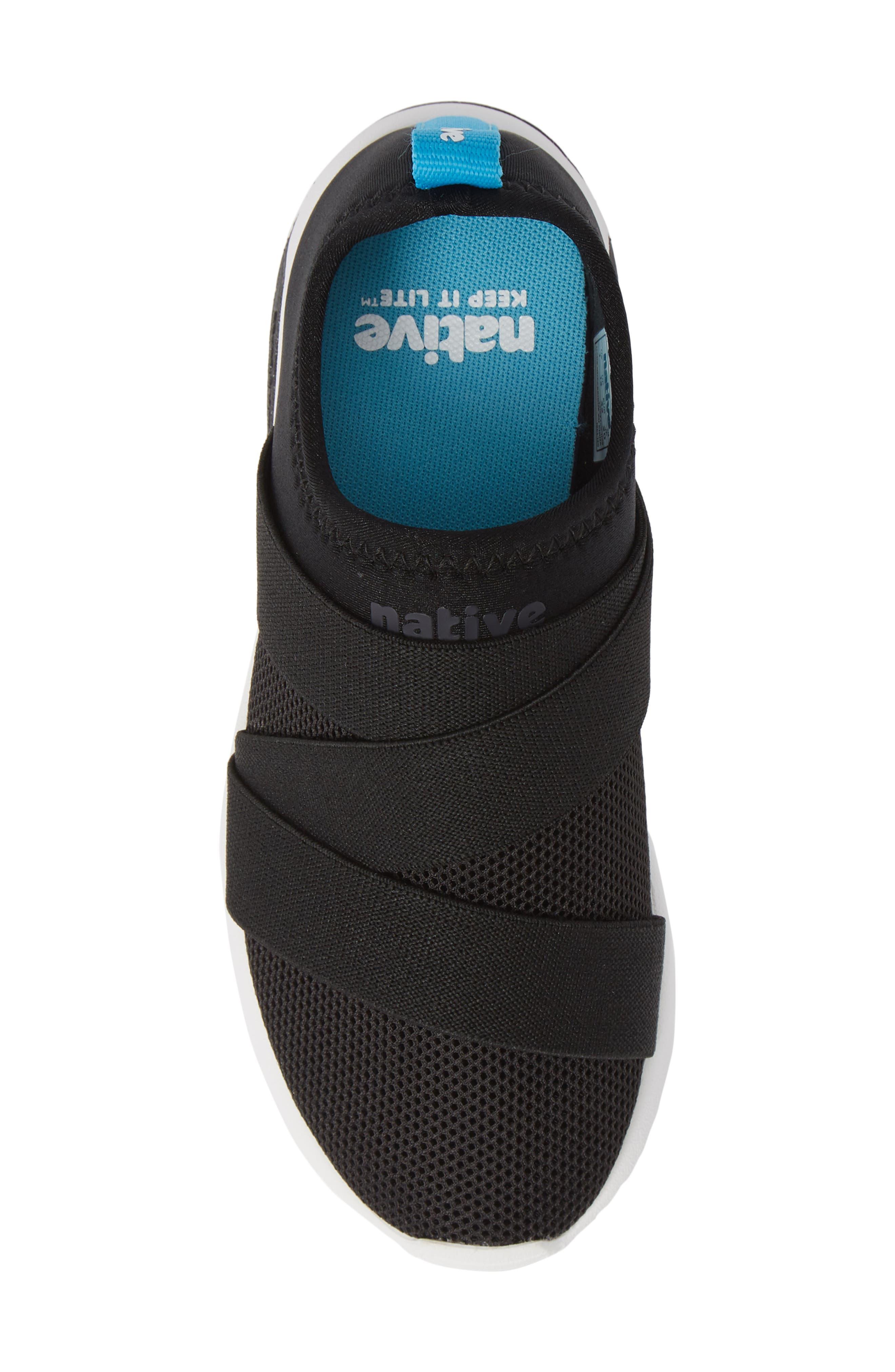 Phoenix Slip-On Sneaker,                             Alternate thumbnail 5, color,                             JIFFY BLACK/ SHELL WHITE
