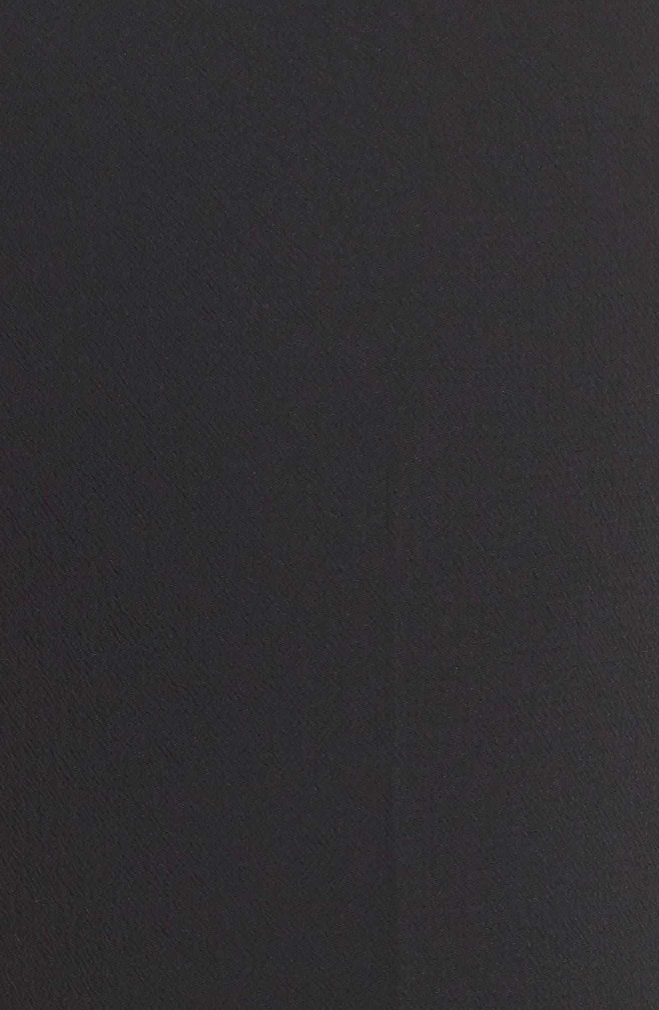 VINCE CAMUTO,                             Parisian Crepe Straight Leg Pants,                             Alternate thumbnail 6, color,                             RICH BLACK