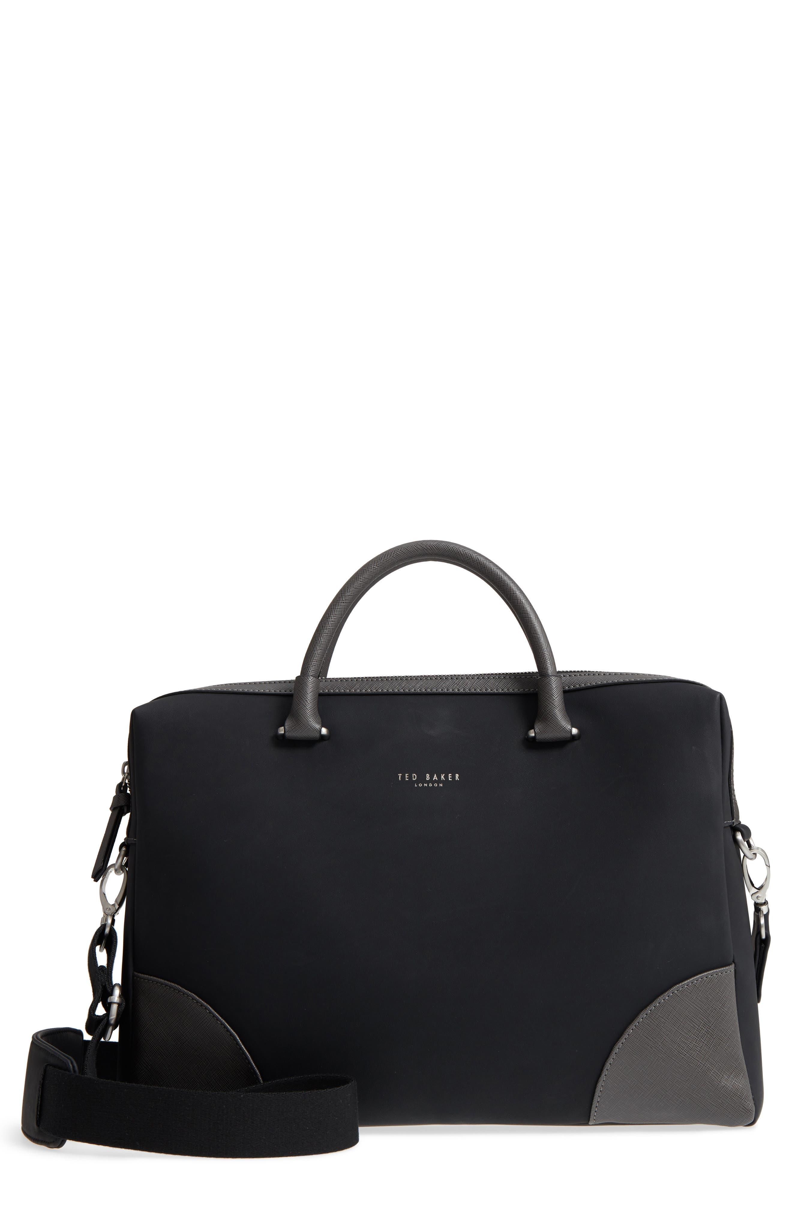 Matcher Document Bag,                         Main,                         color, BLACK
