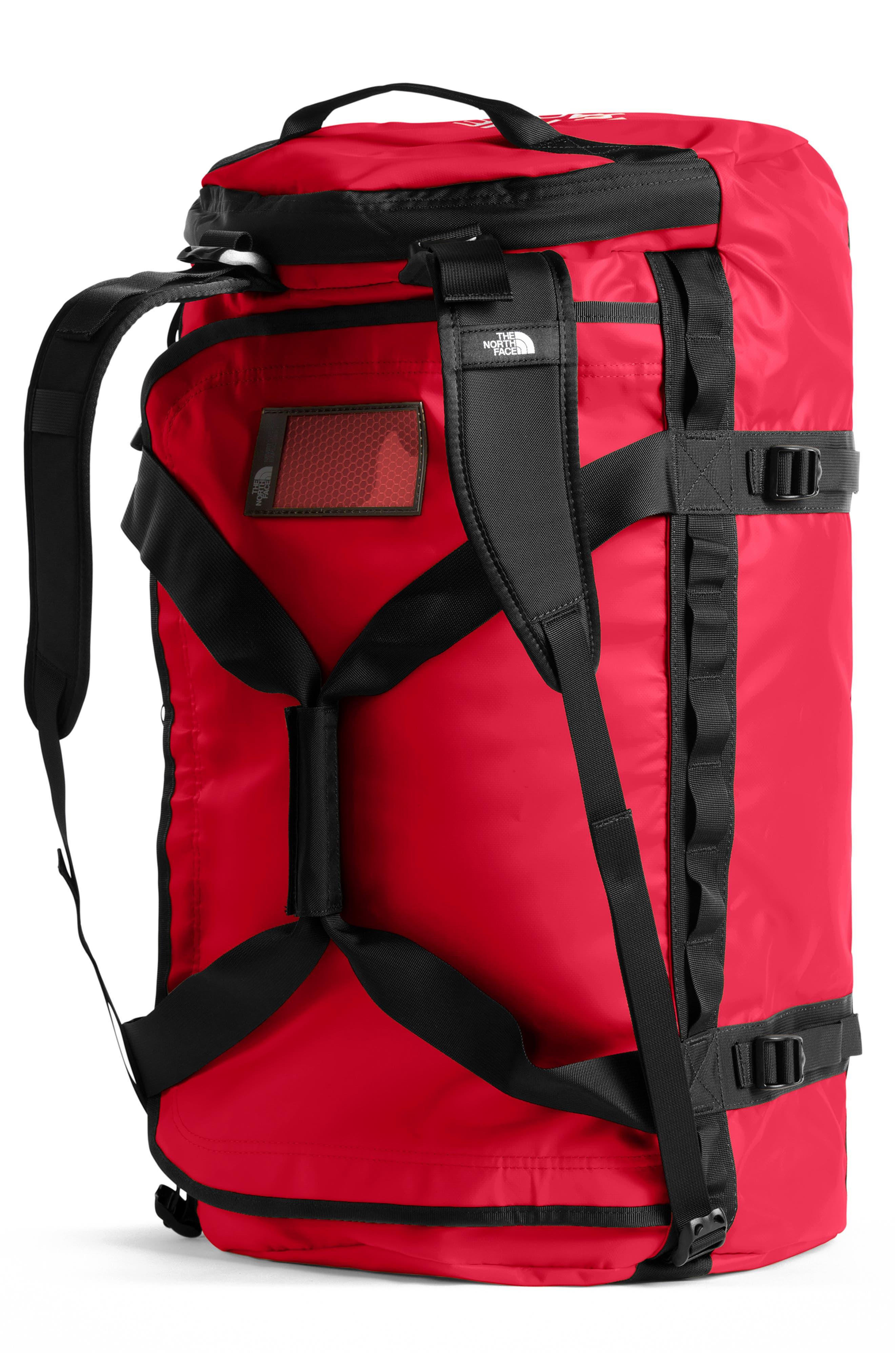 Base Camp Large Duffel Bag,                             Alternate thumbnail 2, color,                             RED/ BLACK