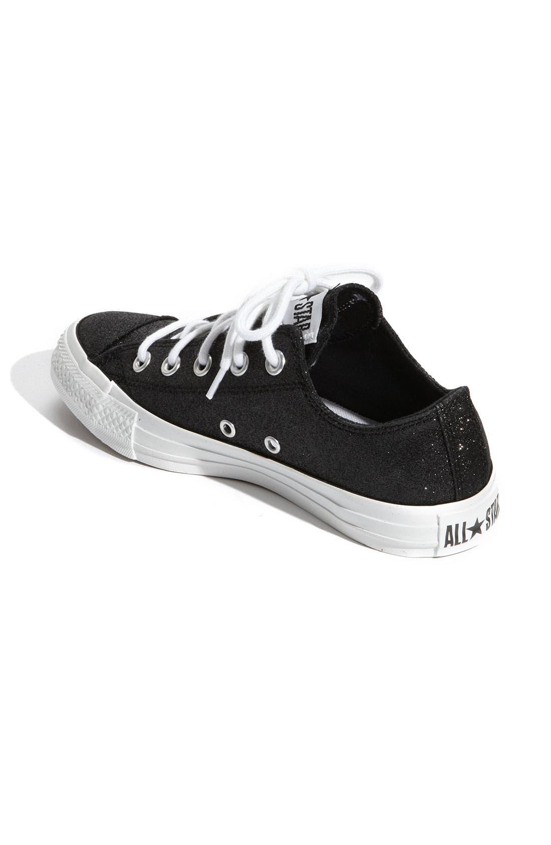 Chuck Taylor<sup>®</sup> 'Winter Glitz' Sneaker,                             Alternate thumbnail 2, color,                             001