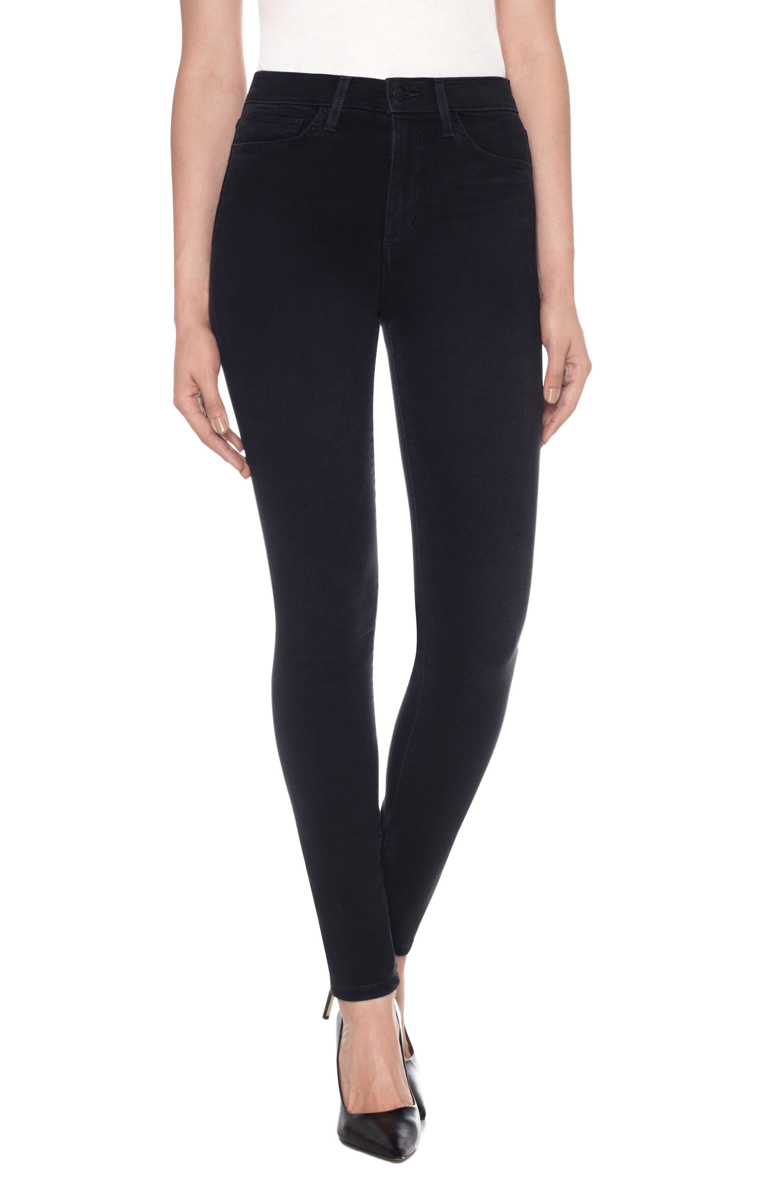 Charlie High Waist Ankle Skinny Jeans,                         Main,                         color, 011