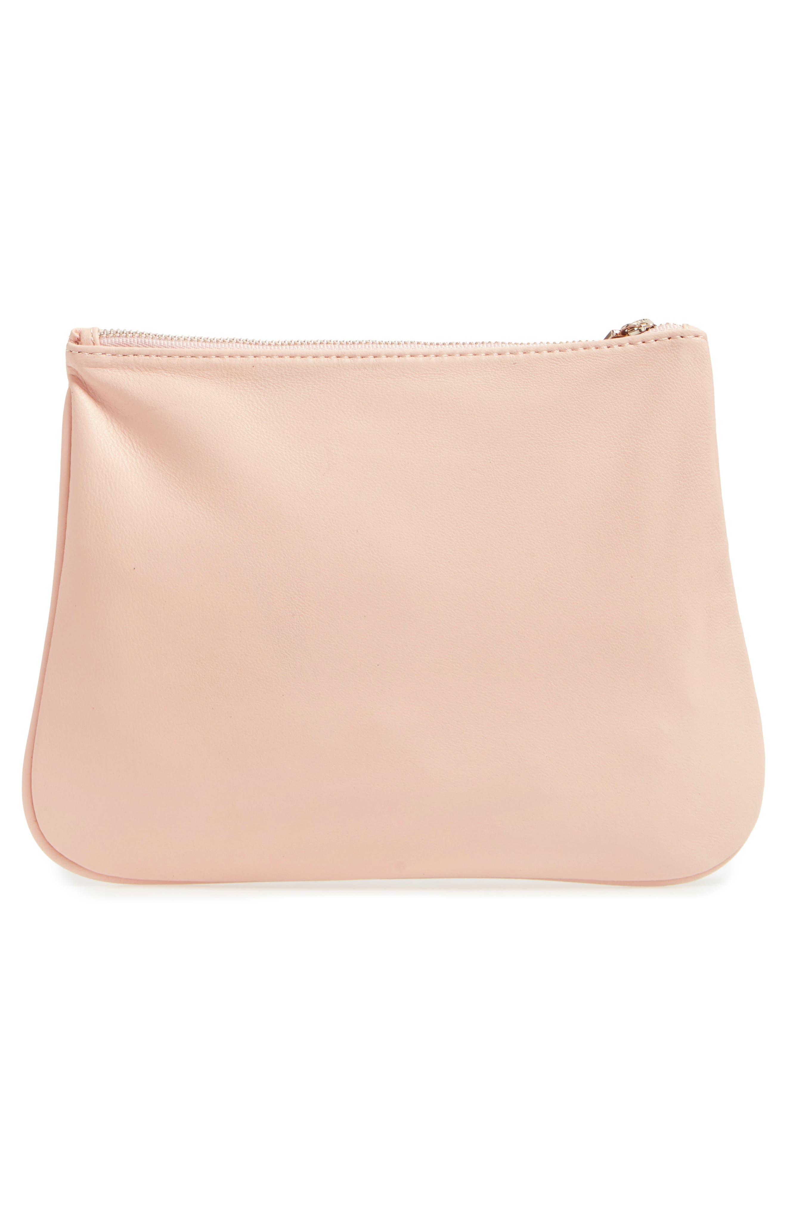 'IT' Cosmetics Bag,                             Alternate thumbnail 3, color,