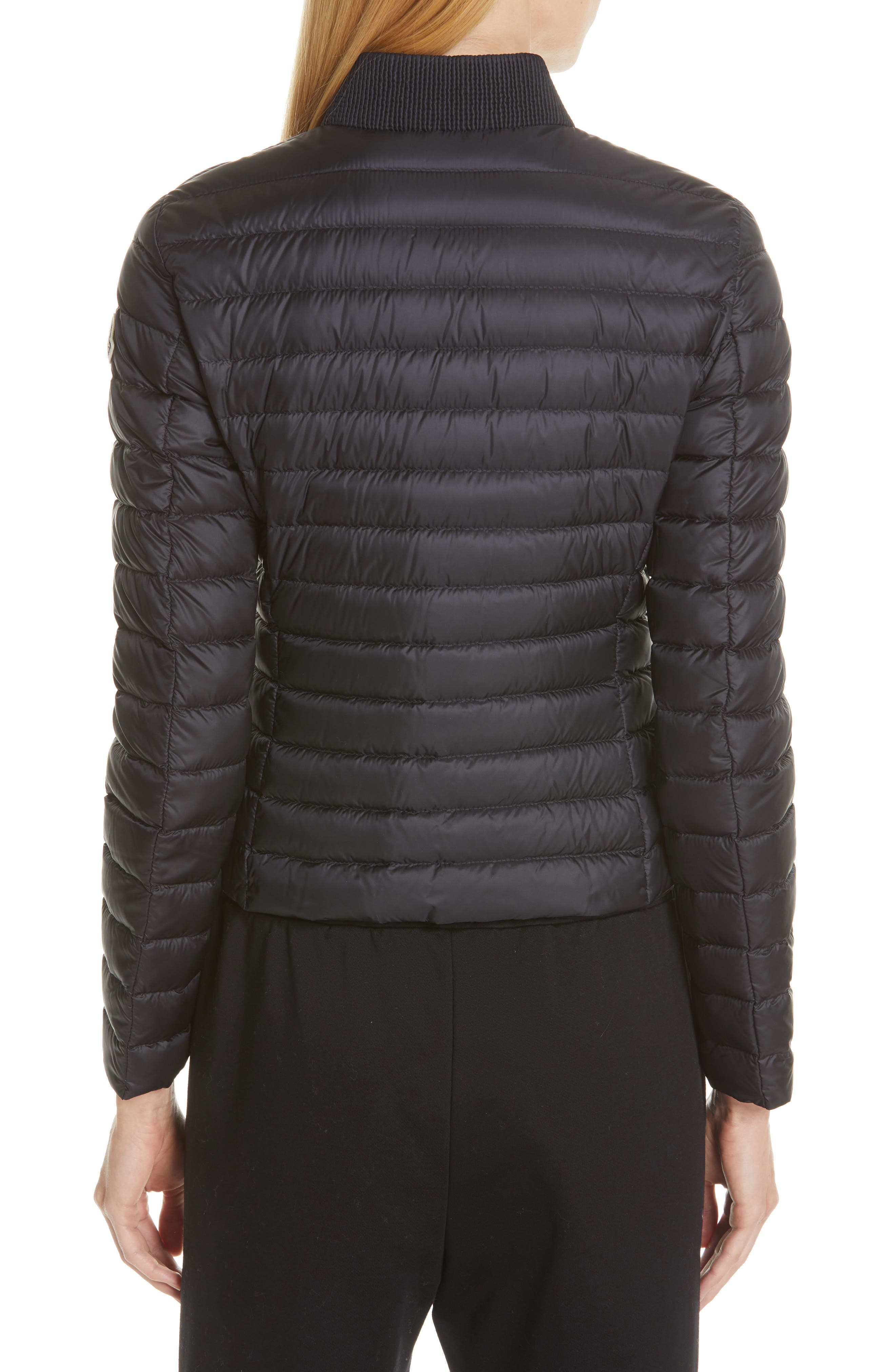 Blenca Quilted Down Jacket,                             Alternate thumbnail 2, color,                             BLACK