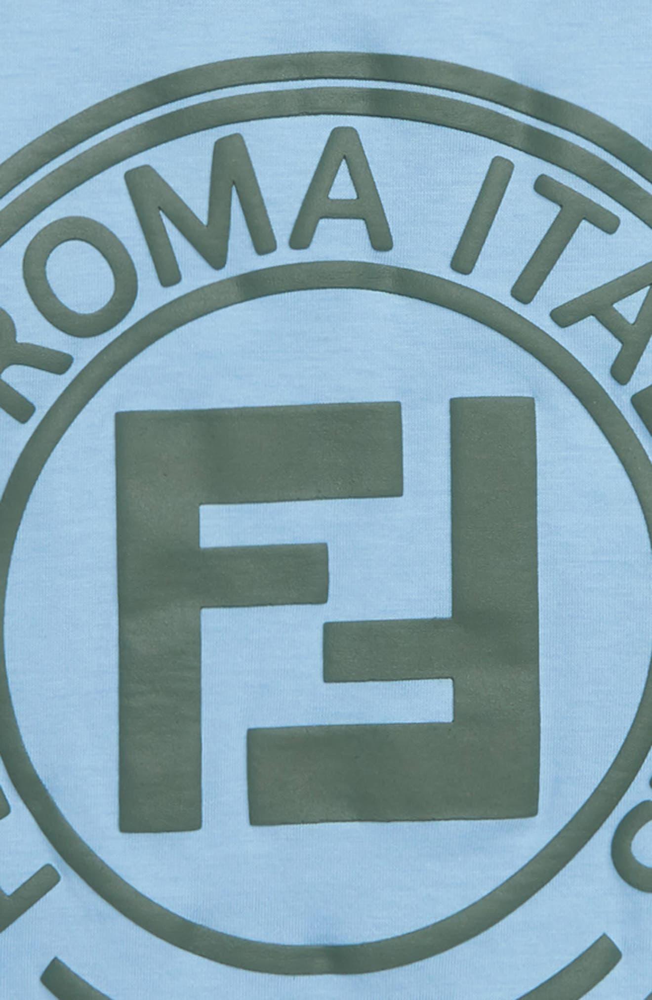 Logo T-Shirt,                             Alternate thumbnail 2, color,                             F15A3 BLUE