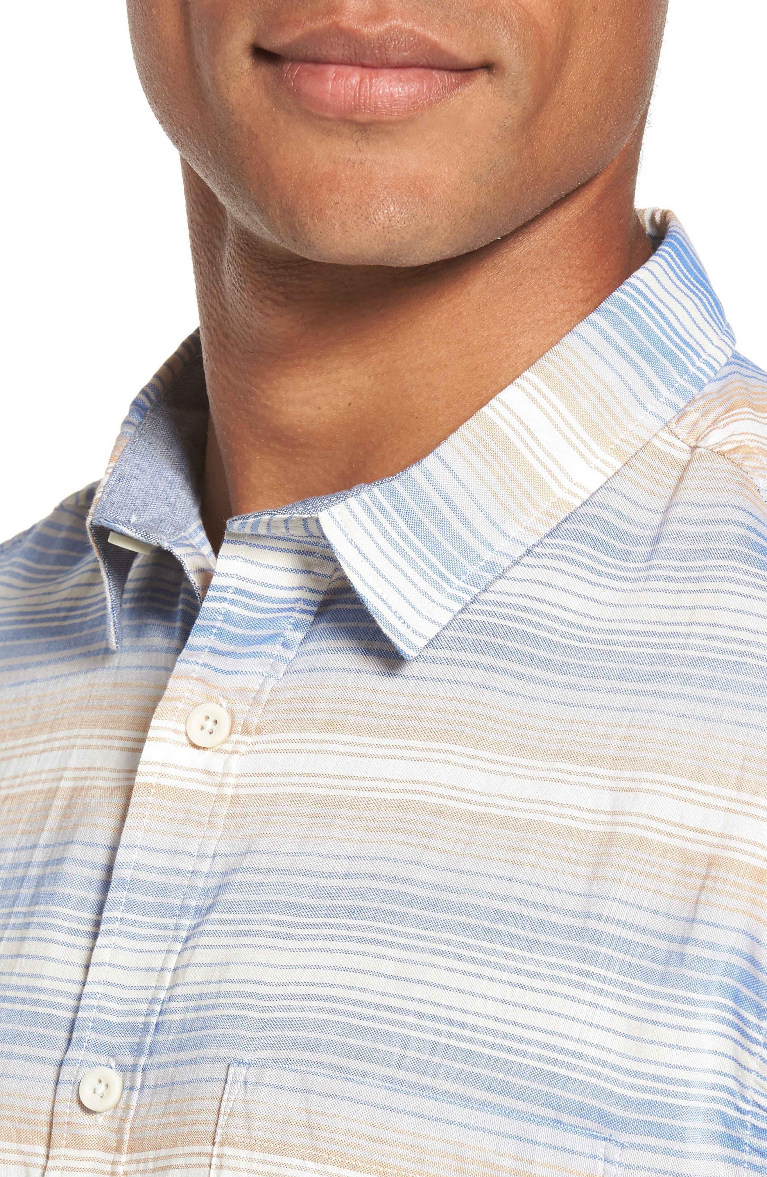 Aventail Stripe Shirt,                             Alternate thumbnail 8, color,
