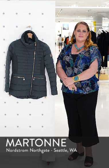 Asymmetrical Water Resistant Quilted Jacket, sales video thumbnail