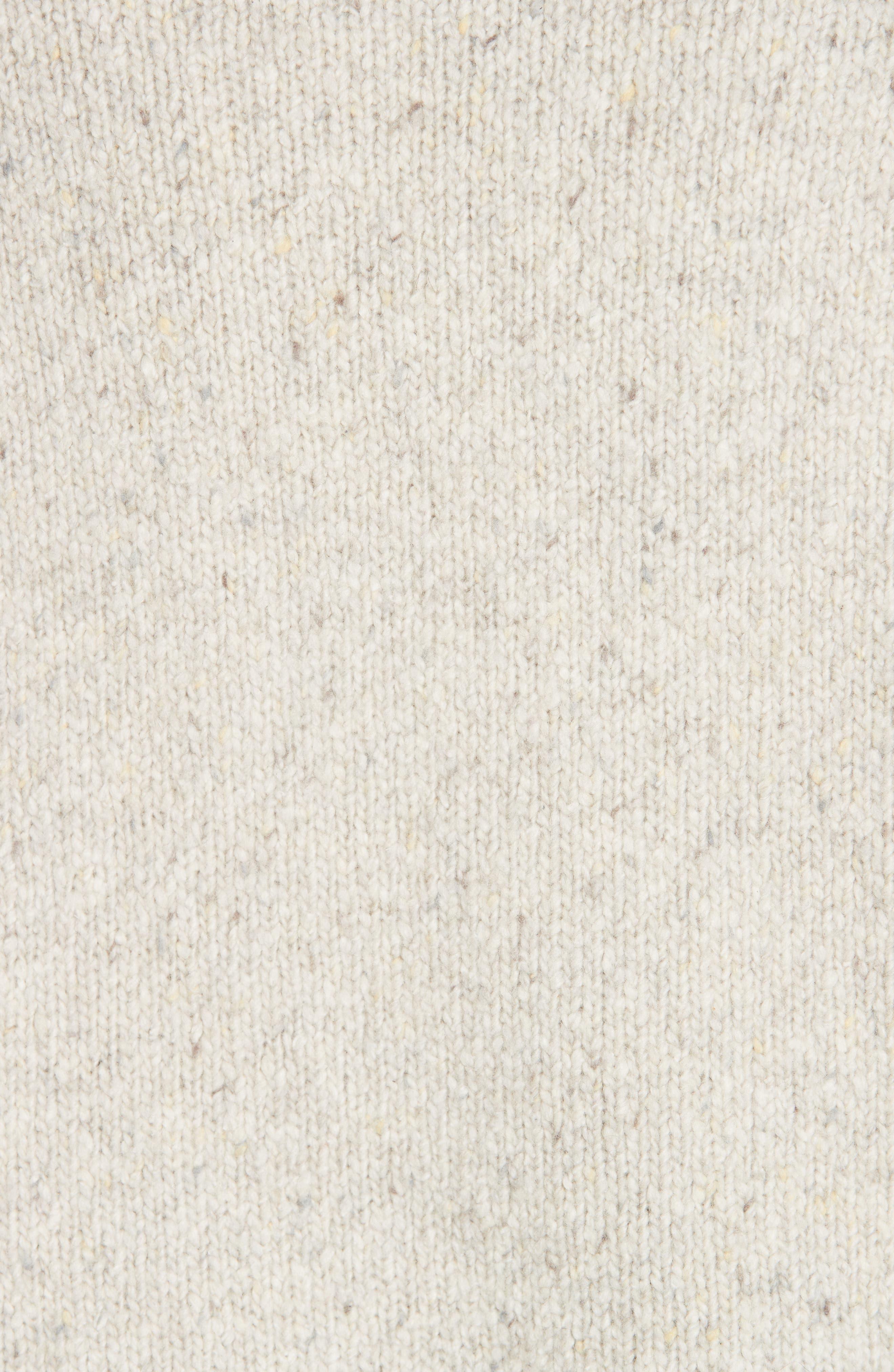 V-Neck Cashmere Sweater,                             Alternate thumbnail 5, color,                             902