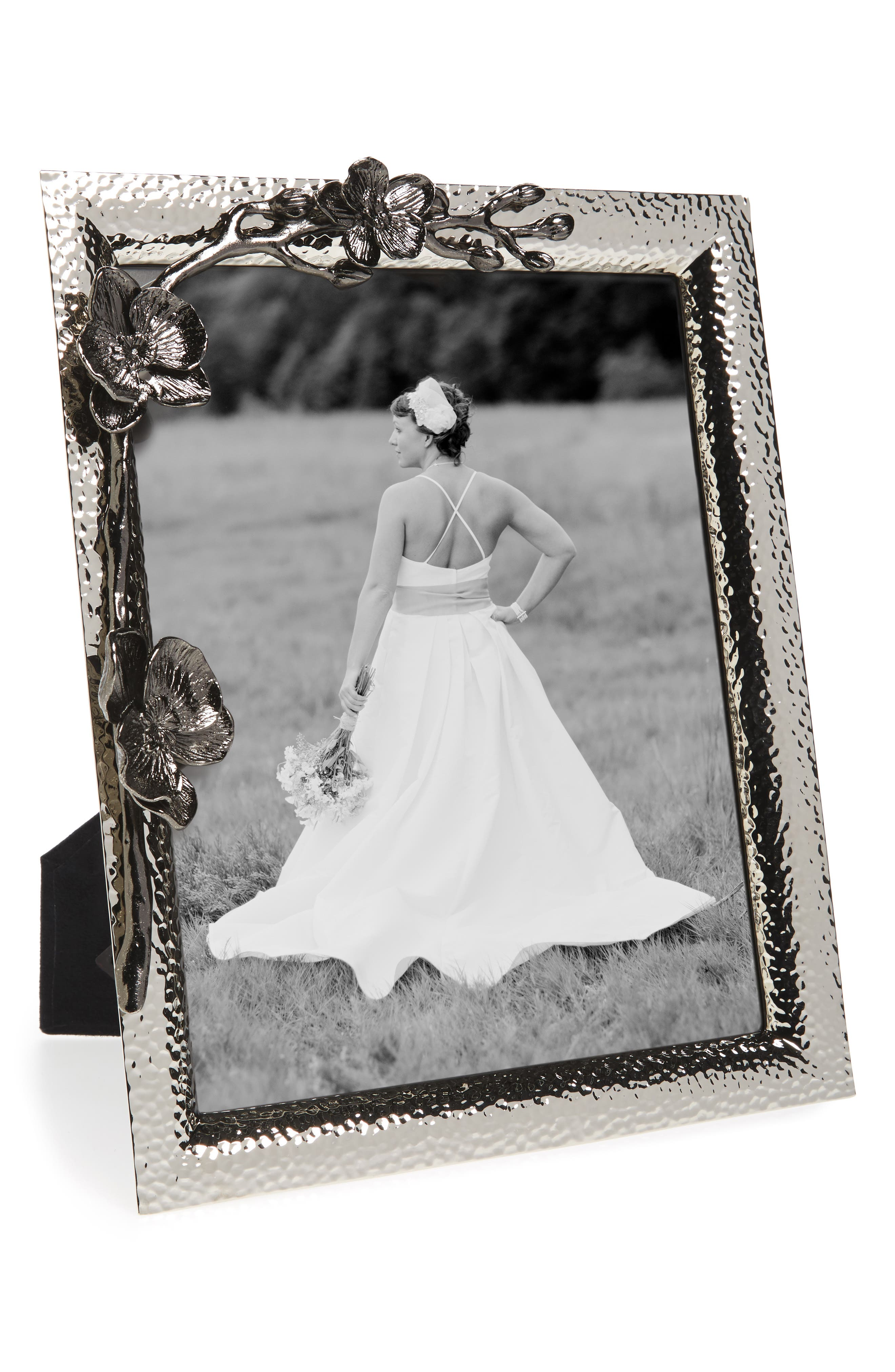 Black Orchid Picture Frame,                             Alternate thumbnail 2, color,                             OXFORD