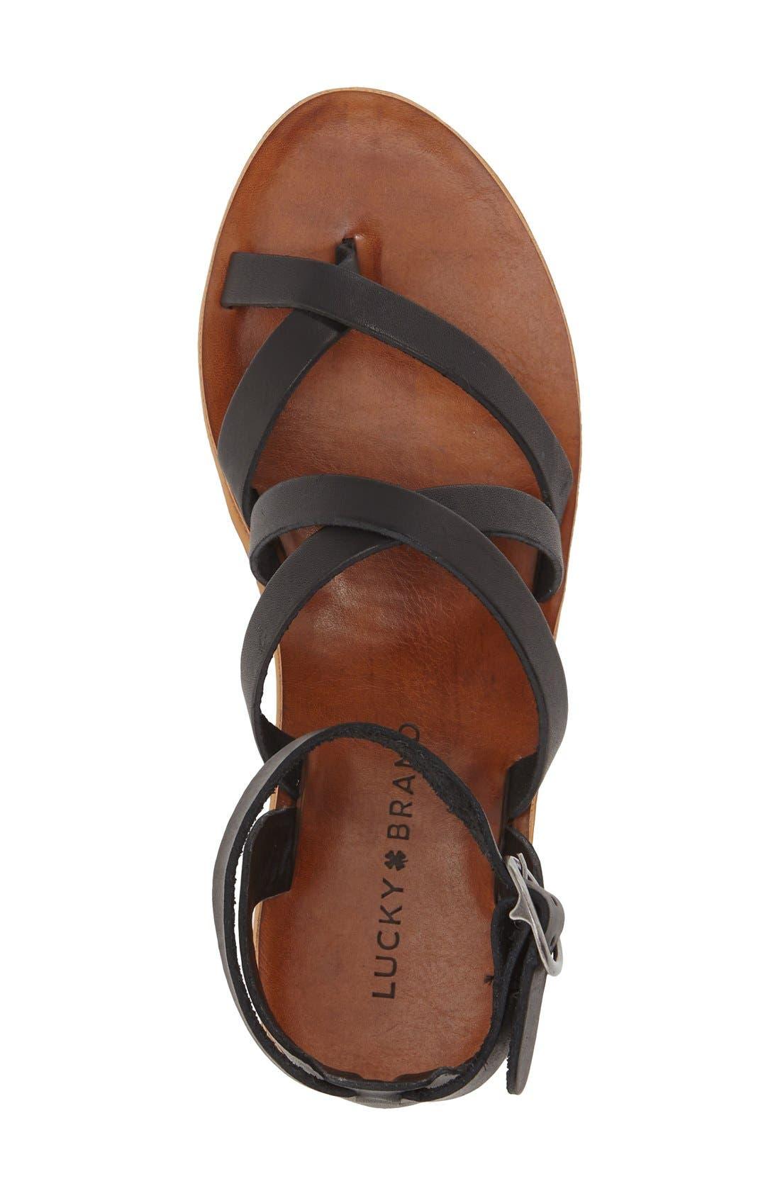 'Honeyy' Platform Sandal,                             Alternate thumbnail 10, color,
