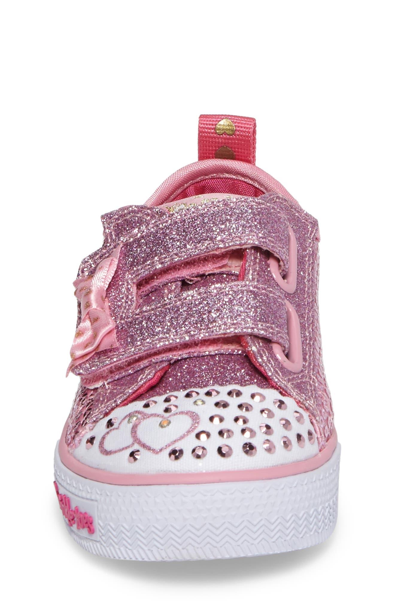 Shuffles - Itsy Bitsy Light-Up Sneaker,                             Alternate thumbnail 19, color,