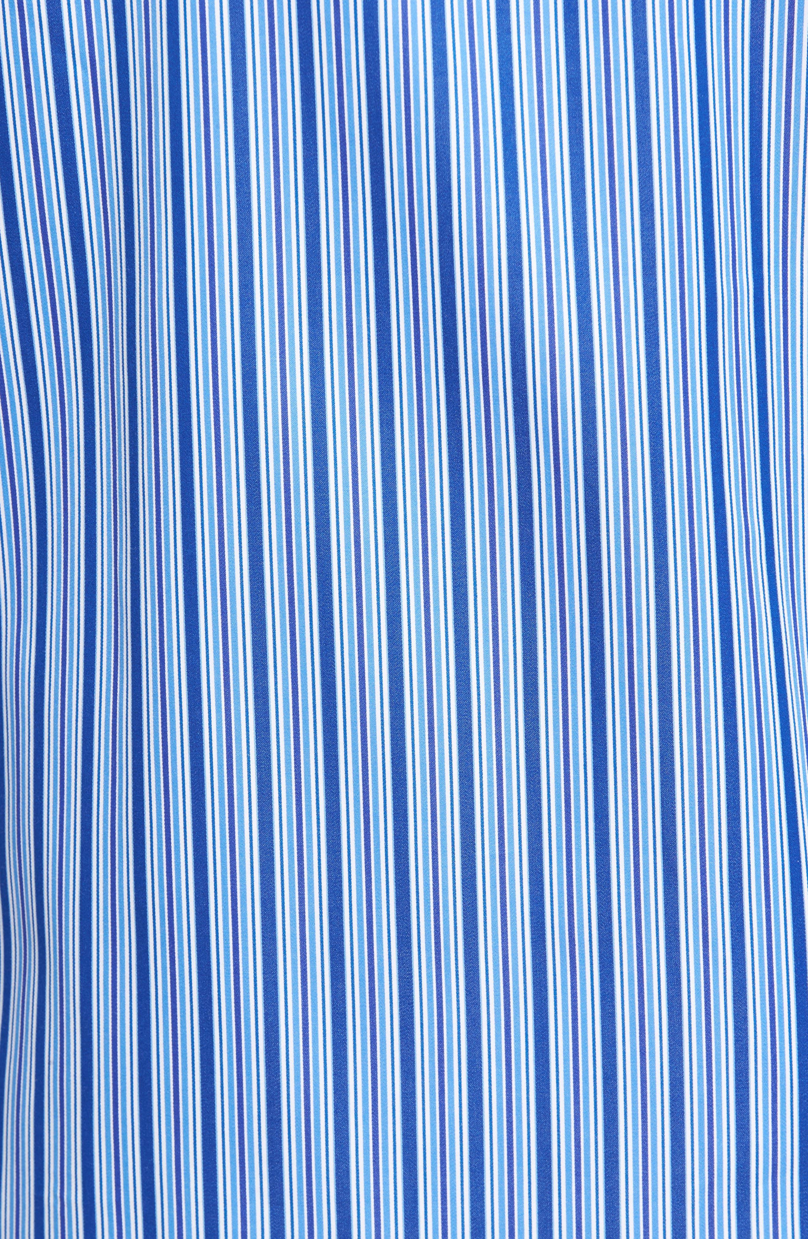 Classic Fit Stripe Sport Shirt,                             Alternate thumbnail 5, color,                             422