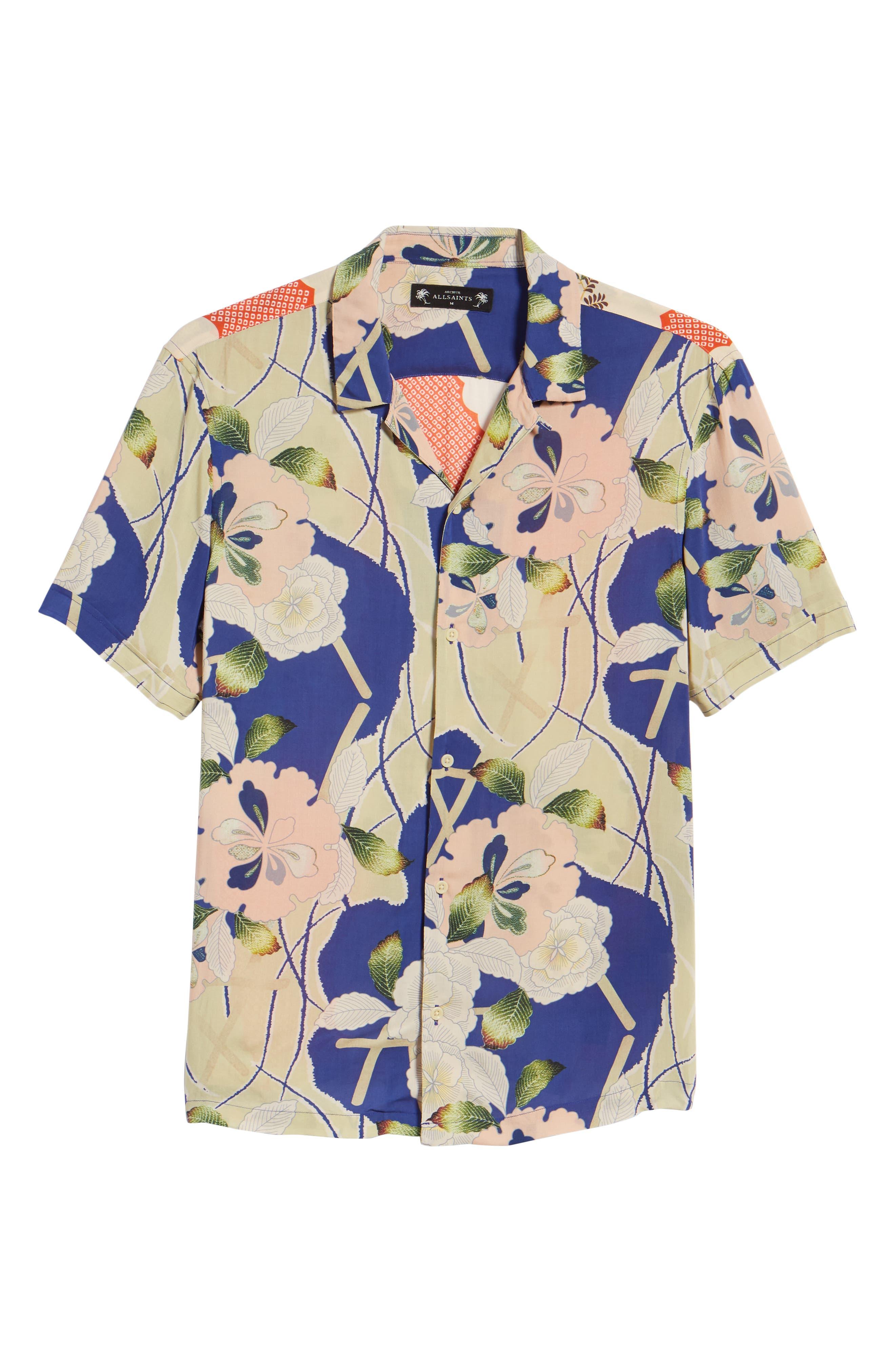 Fuyugi Regular Fit Short Sleeve Sport Shirt,                             Alternate thumbnail 6, color,                             412