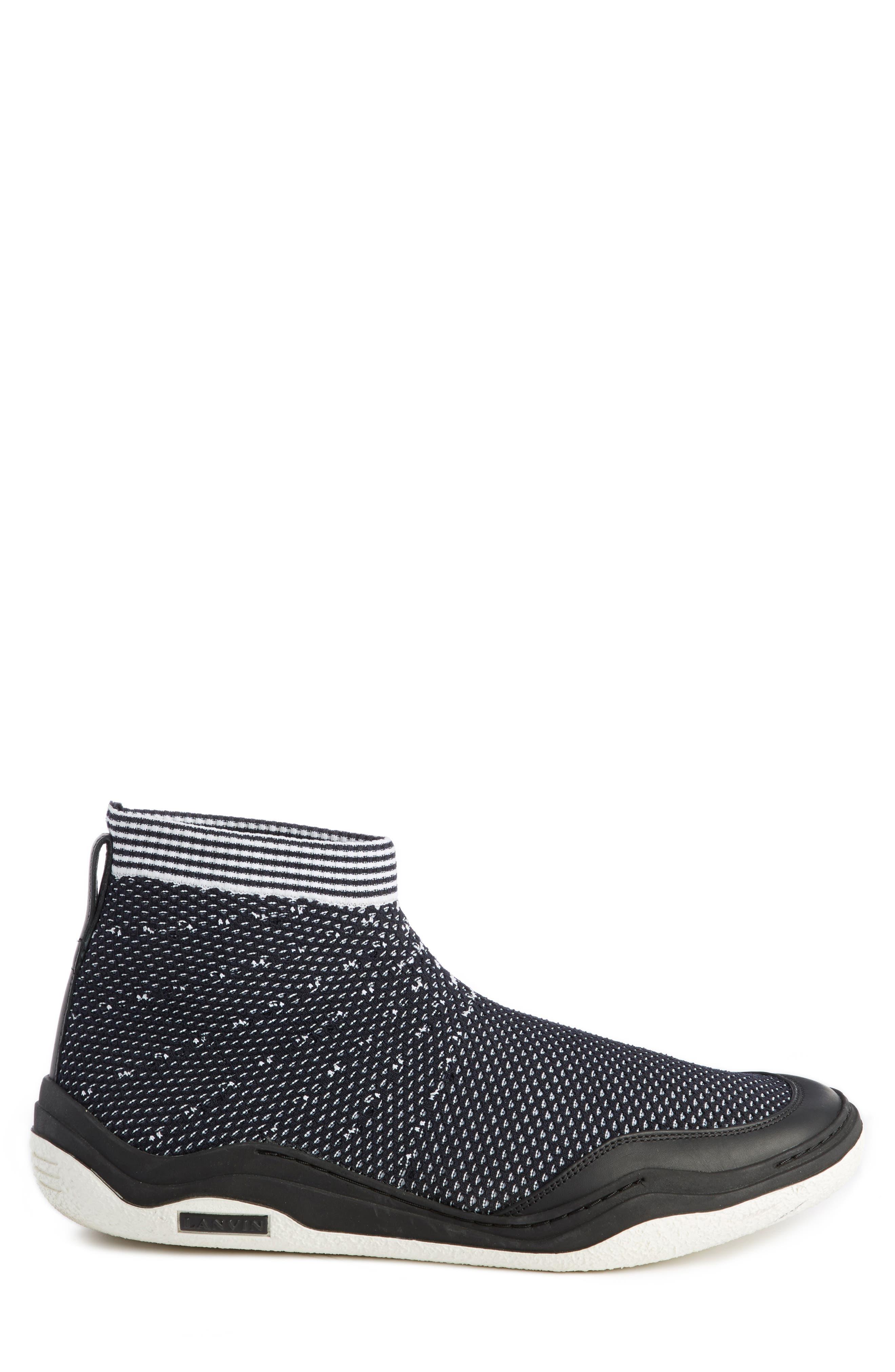 Knit Sneaker,                             Alternate thumbnail 4, color,                             004