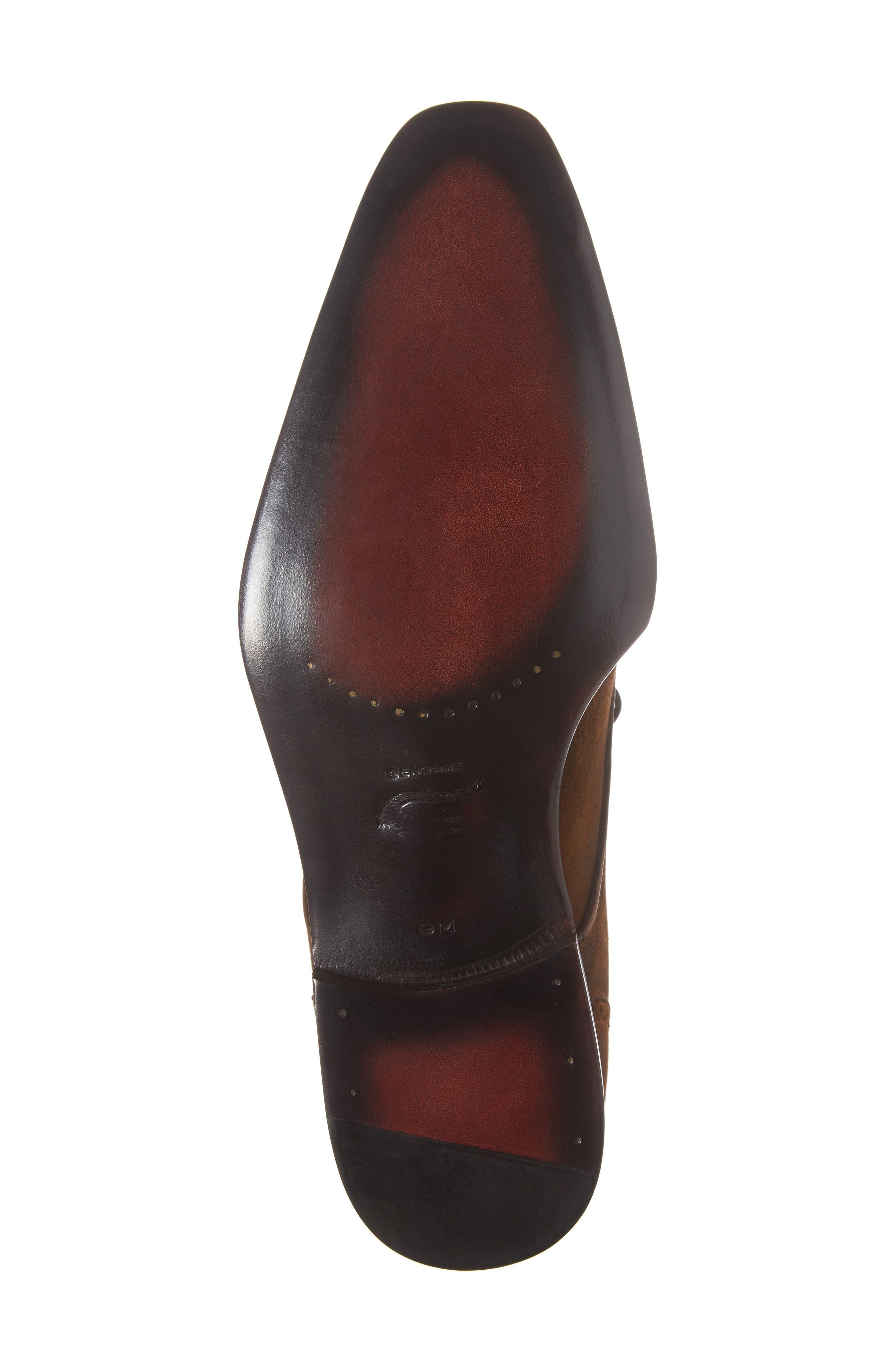 Nunez Spectator Shoe,                             Alternate thumbnail 6, color,                             CAMEL/ BEIGE