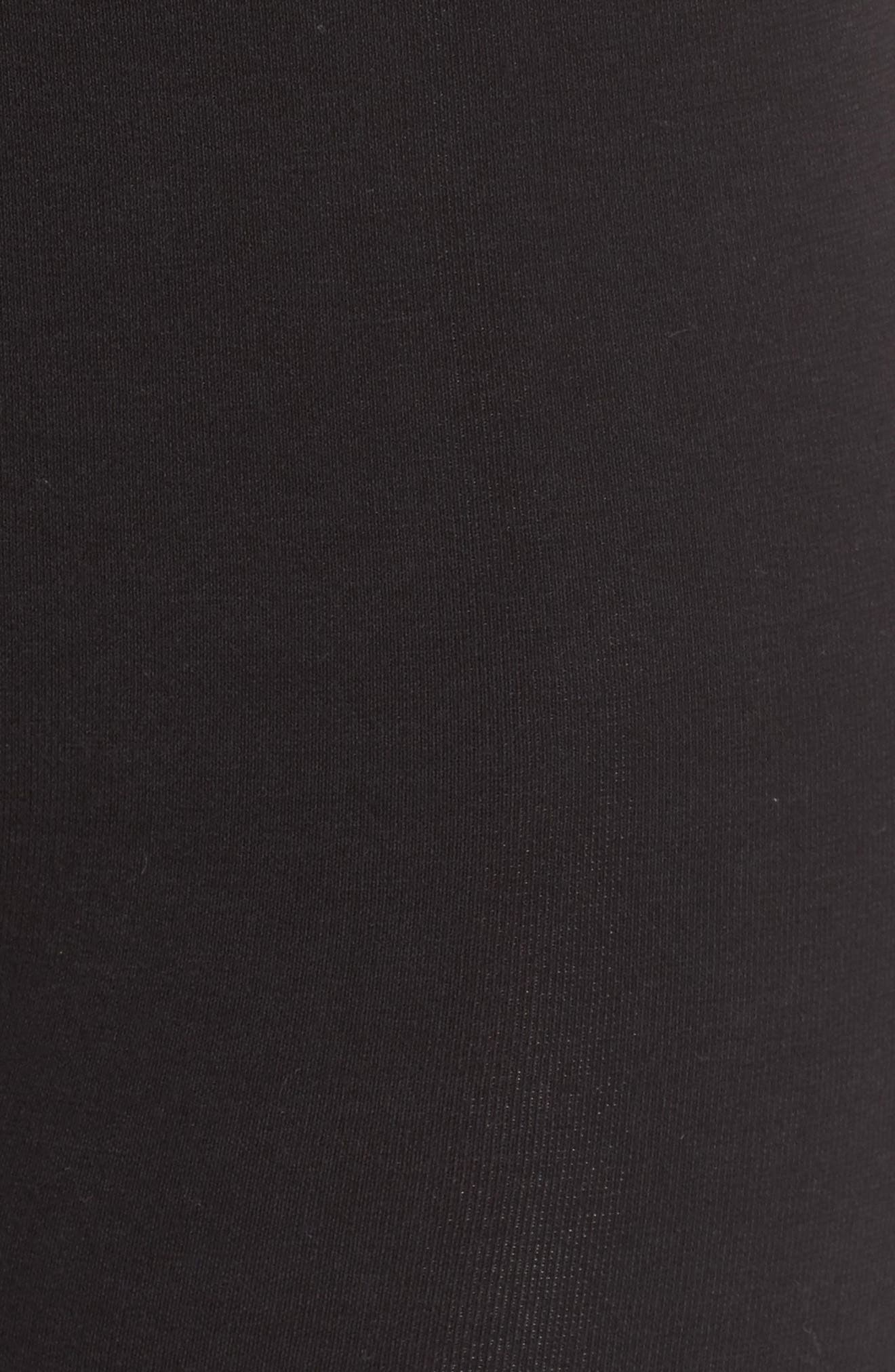 YUMMIE,                             Seamless Shaping Shorts,                             Alternate thumbnail 5, color,                             001