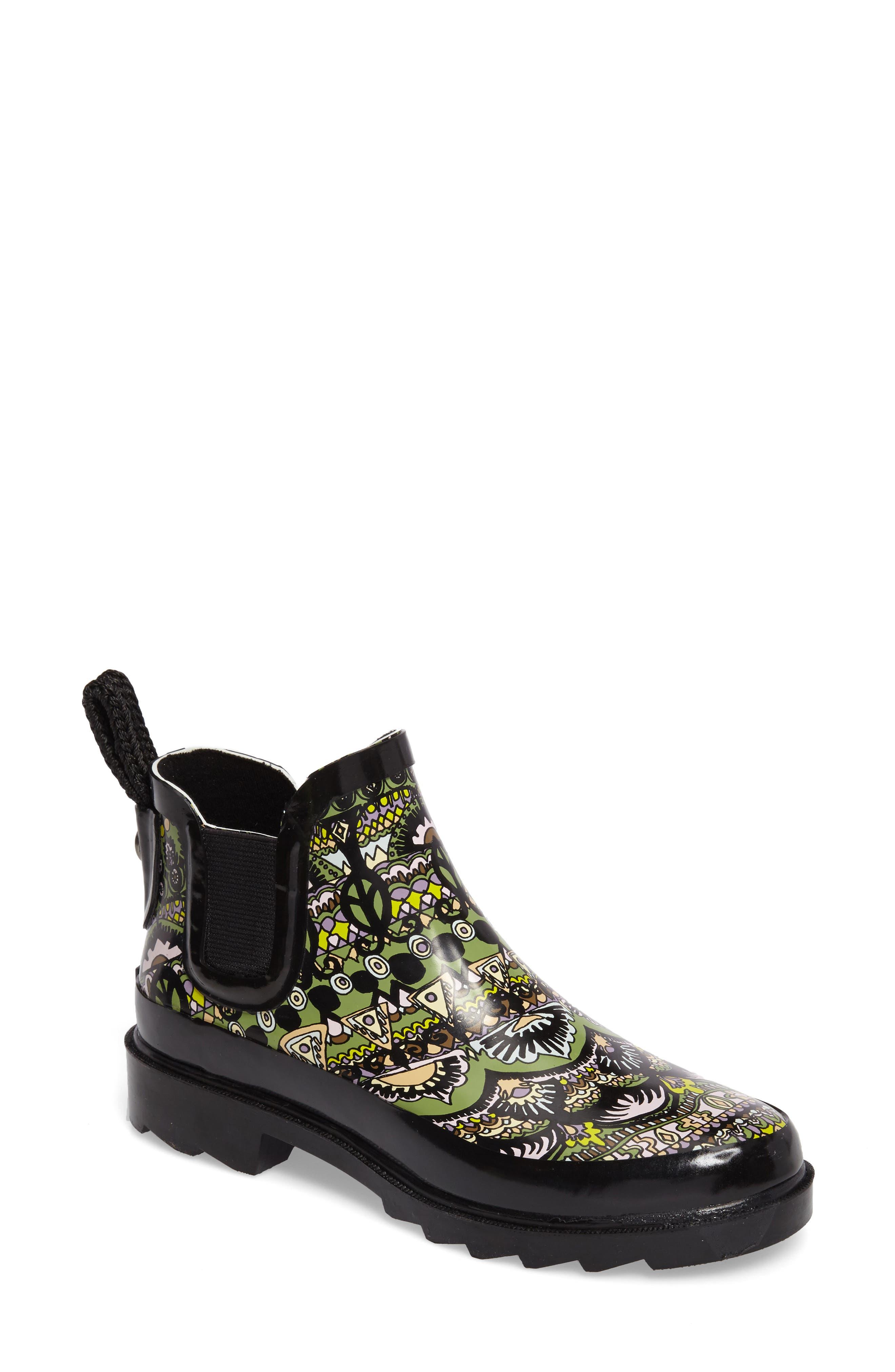 'Rhyme' Waterproof Rain Boot,                         Main,                         color,