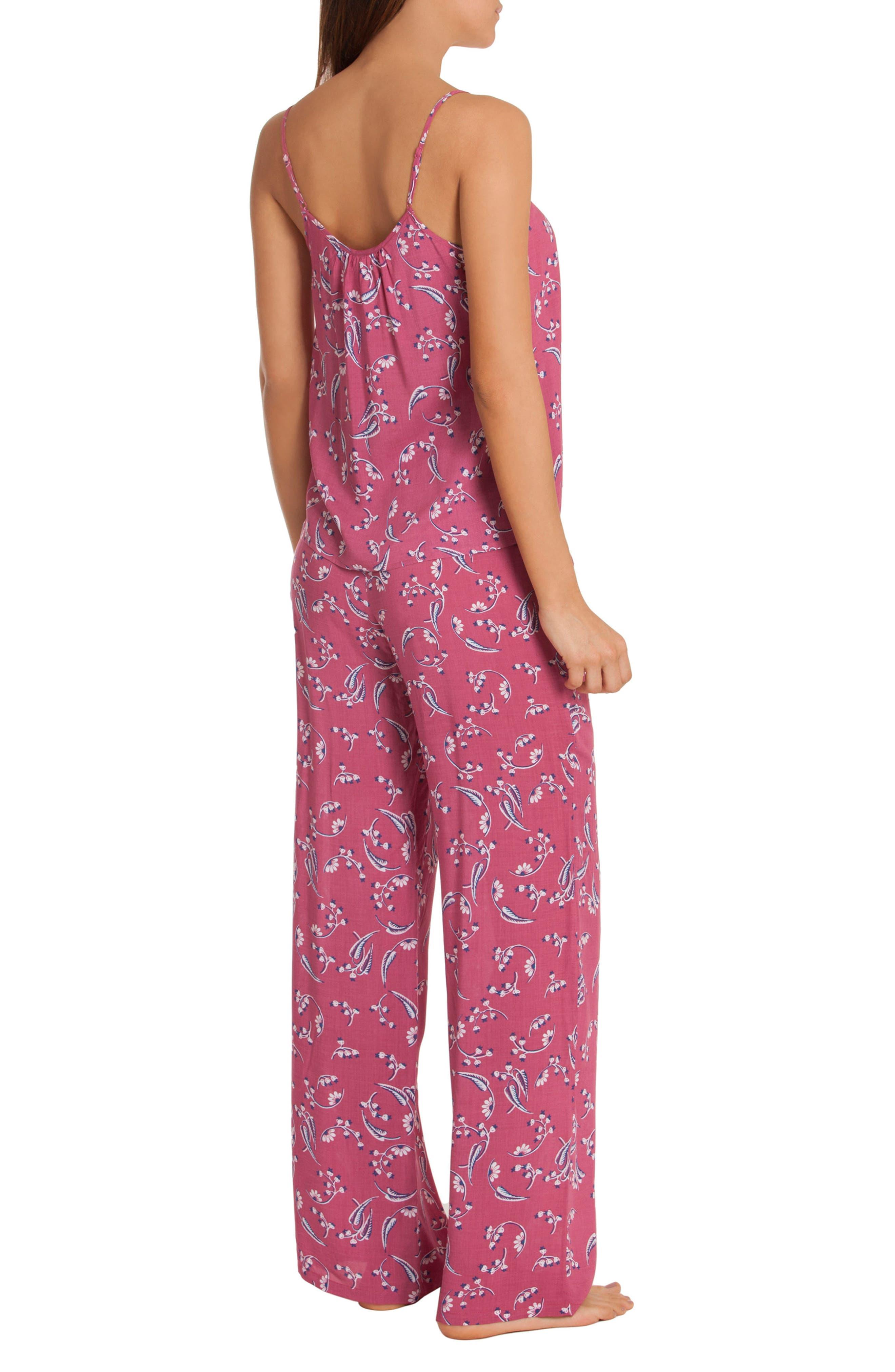 Floral Pajamas,                             Alternate thumbnail 2, color,
