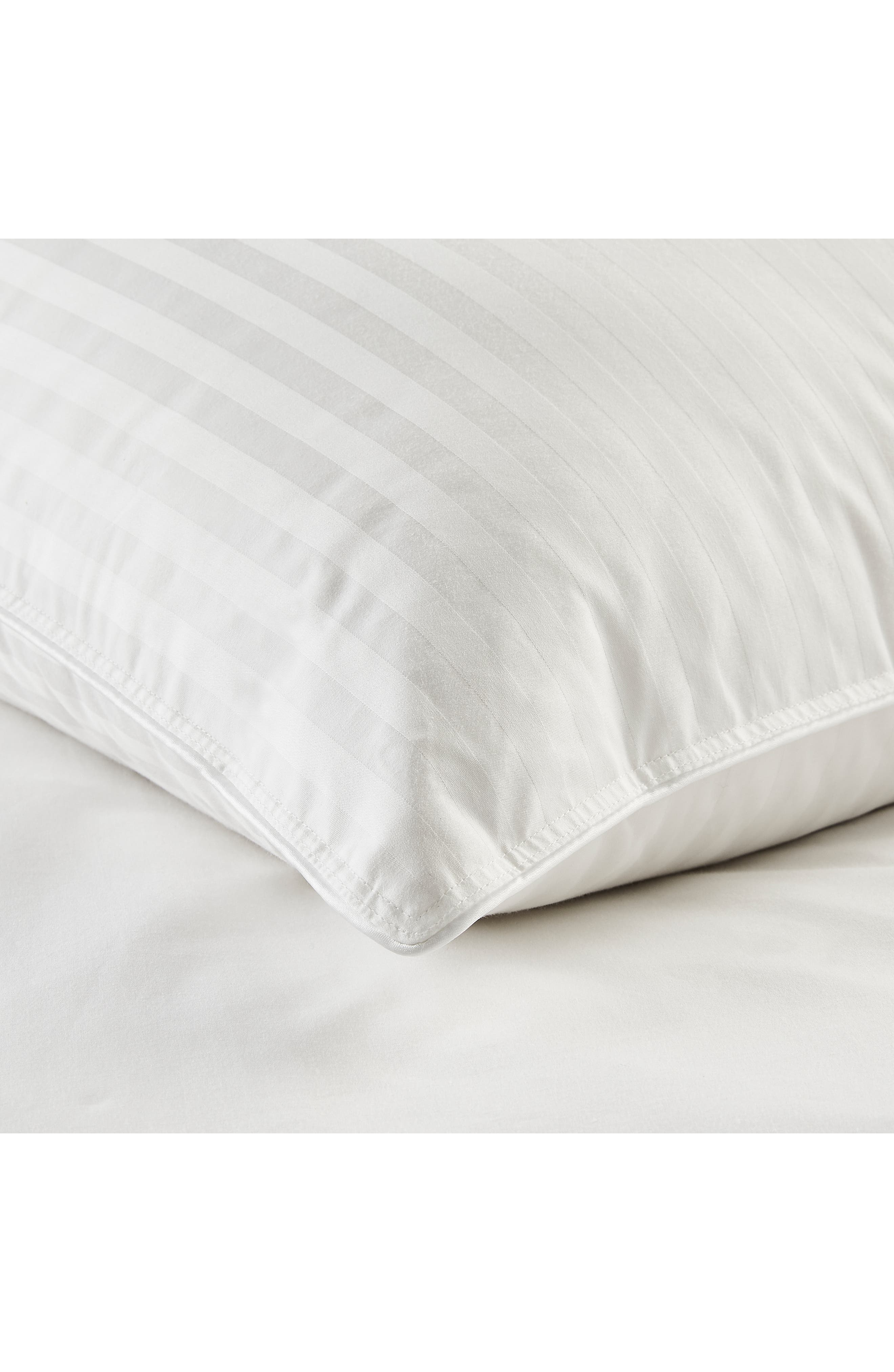 THE WHITE COMPANY,                             Firm Hungarian Goose Down & Feather Pillow,                             Alternate thumbnail 2, color,                             IVORY