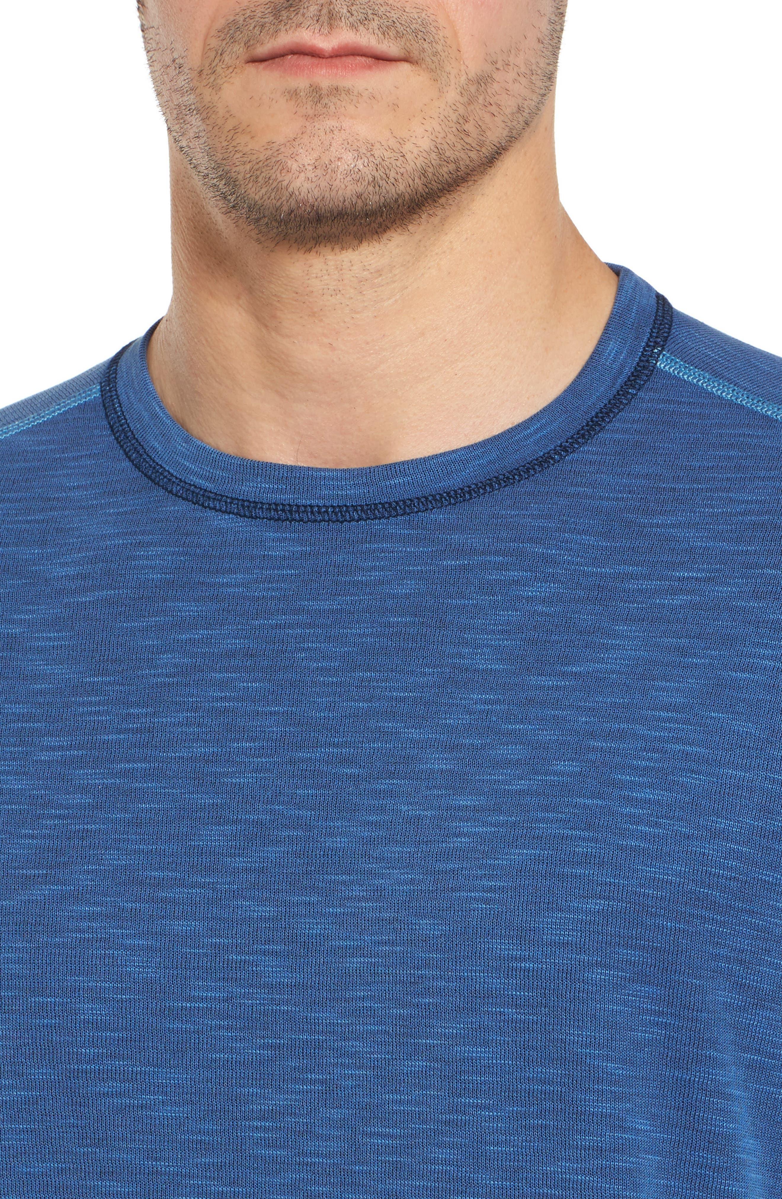 Flip Tide Standard Fit T-Shirt,                             Alternate thumbnail 5, color,                             GALAXY BLUE