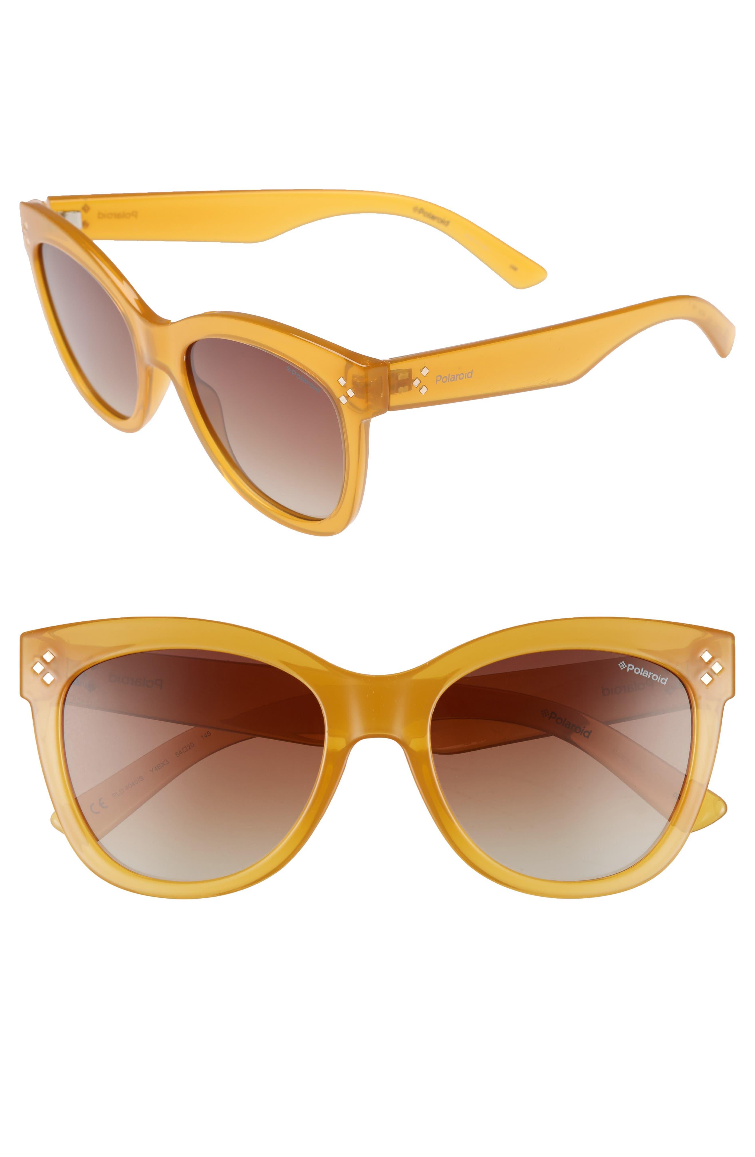 54mm Polarized Sunglasses,                             Main thumbnail 1, color,                             700