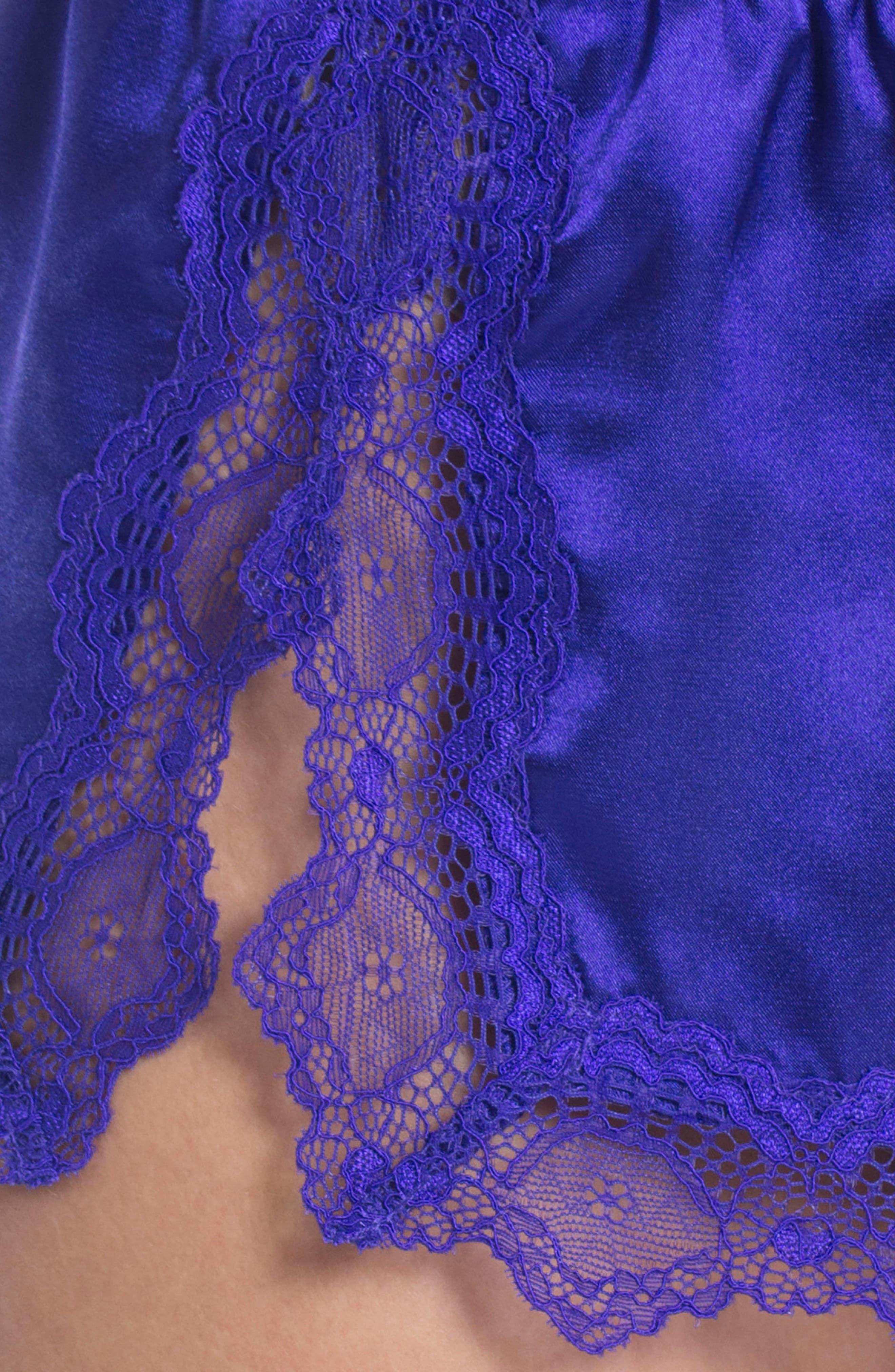 Satin Short Pajamas,                             Alternate thumbnail 27, color,