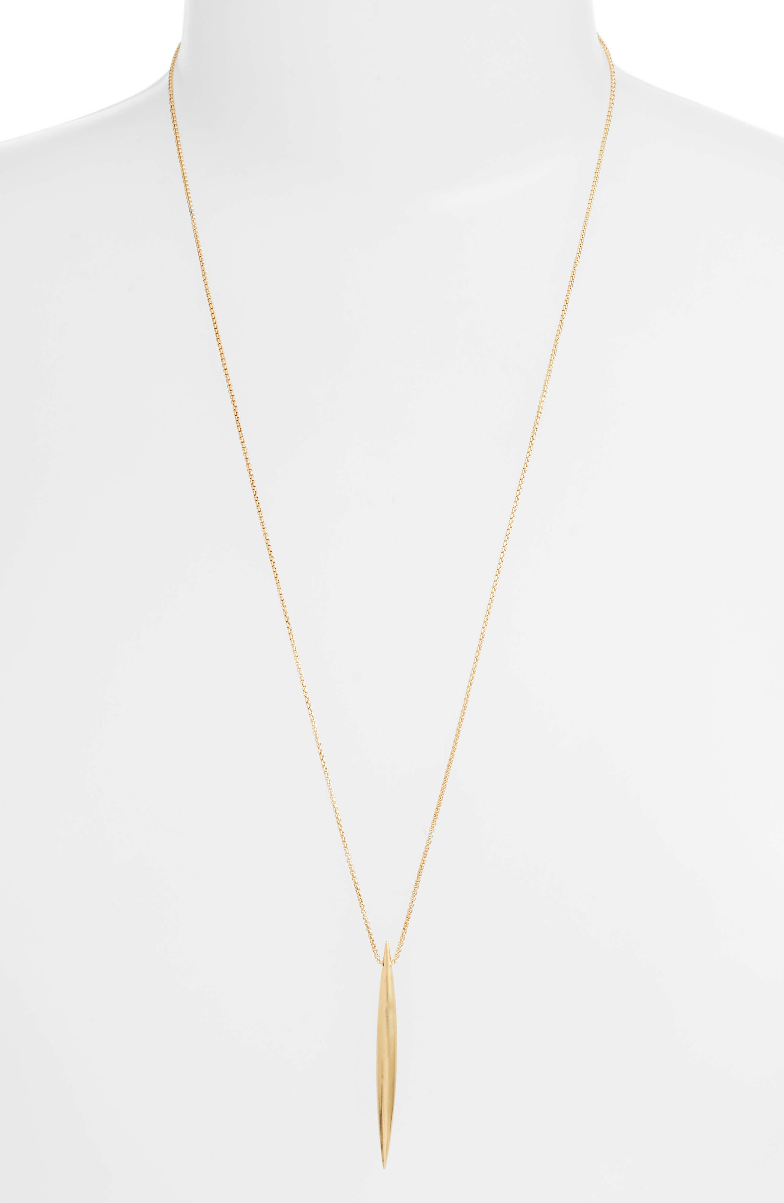 Taj Pendant Adjustable Necklace,                             Main thumbnail 1, color,                             GOLD