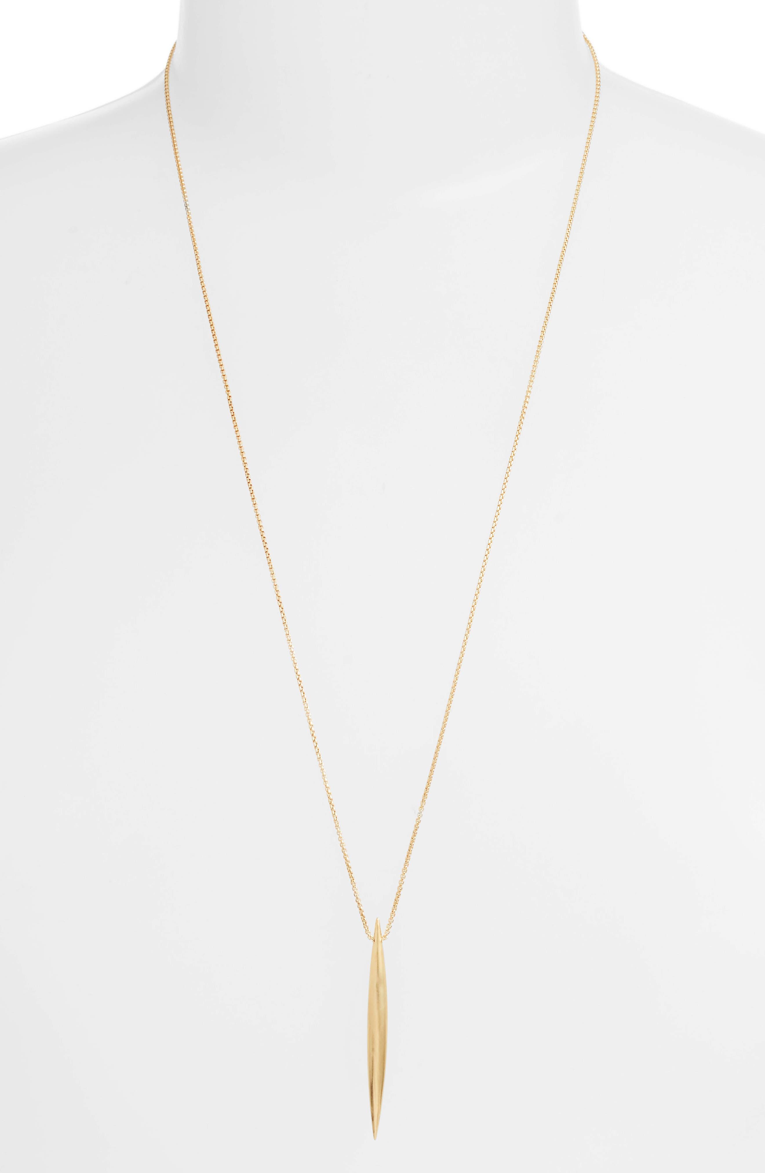 Taj Pendant Adjustable Necklace,                         Main,                         color, GOLD