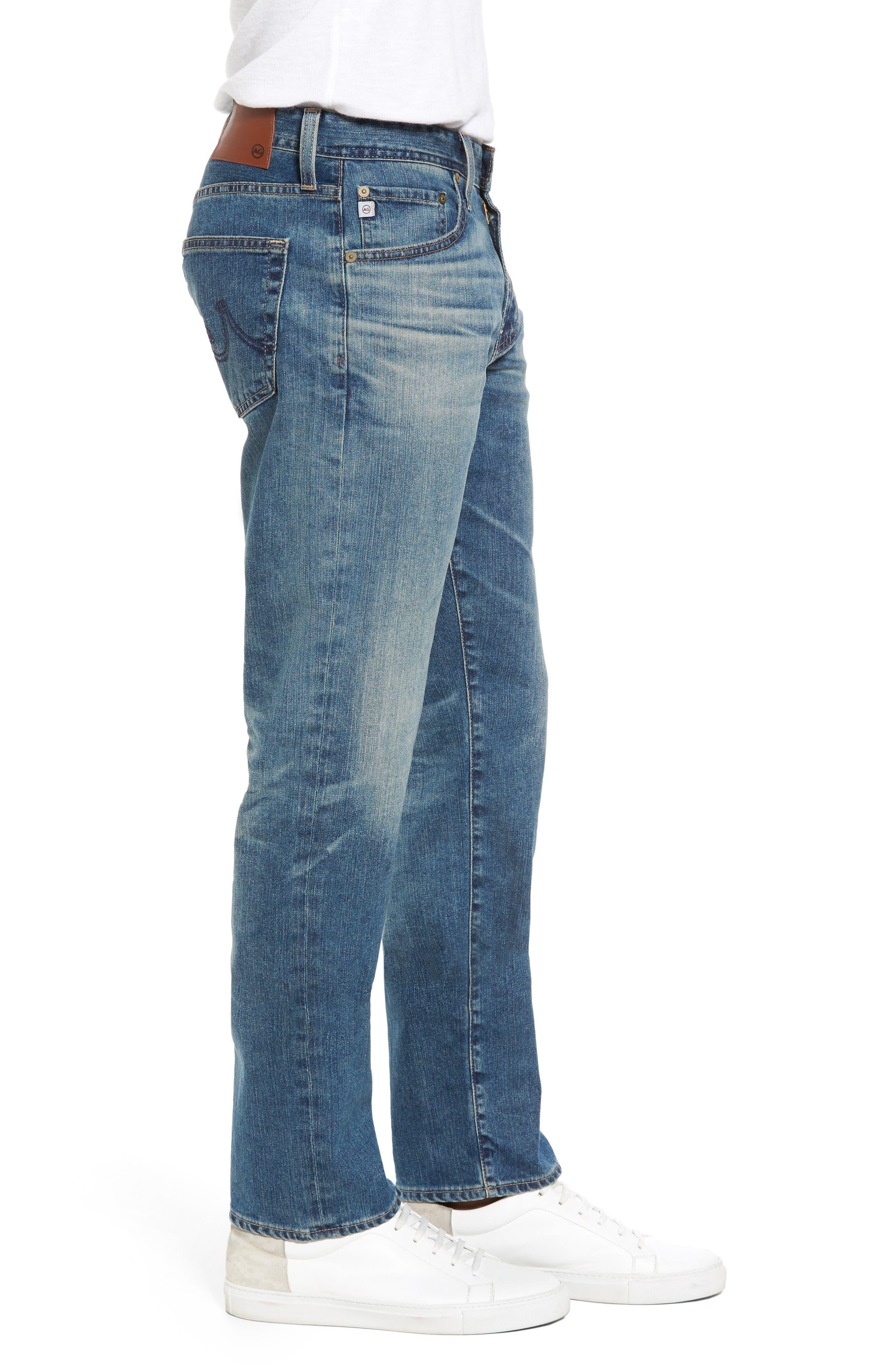 Graduate Slim Straight Leg Jeans,                             Alternate thumbnail 3, color,                             430