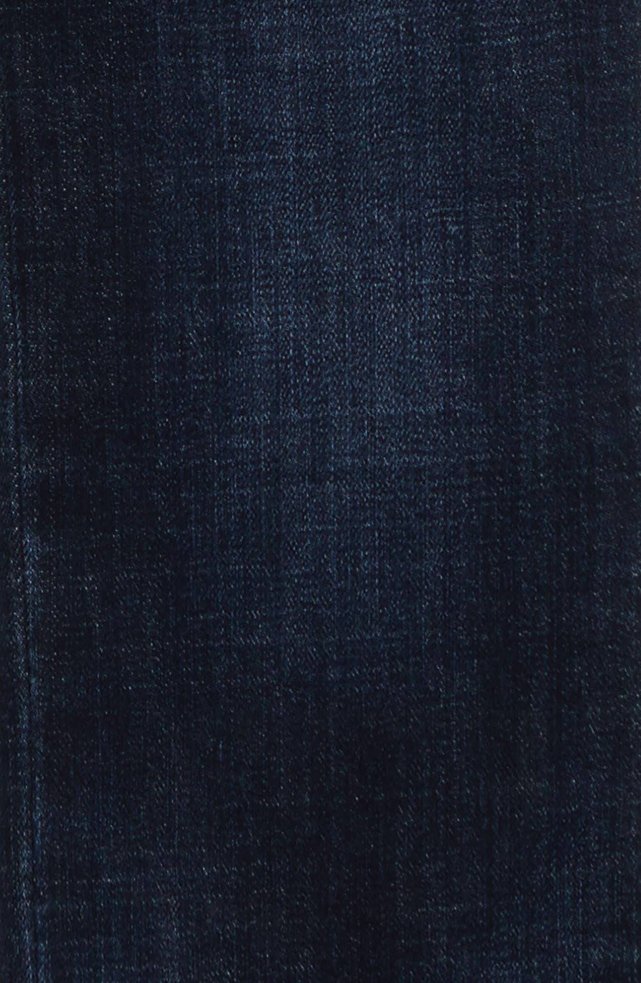 Straight Leg Jeans,                             Alternate thumbnail 6, color,