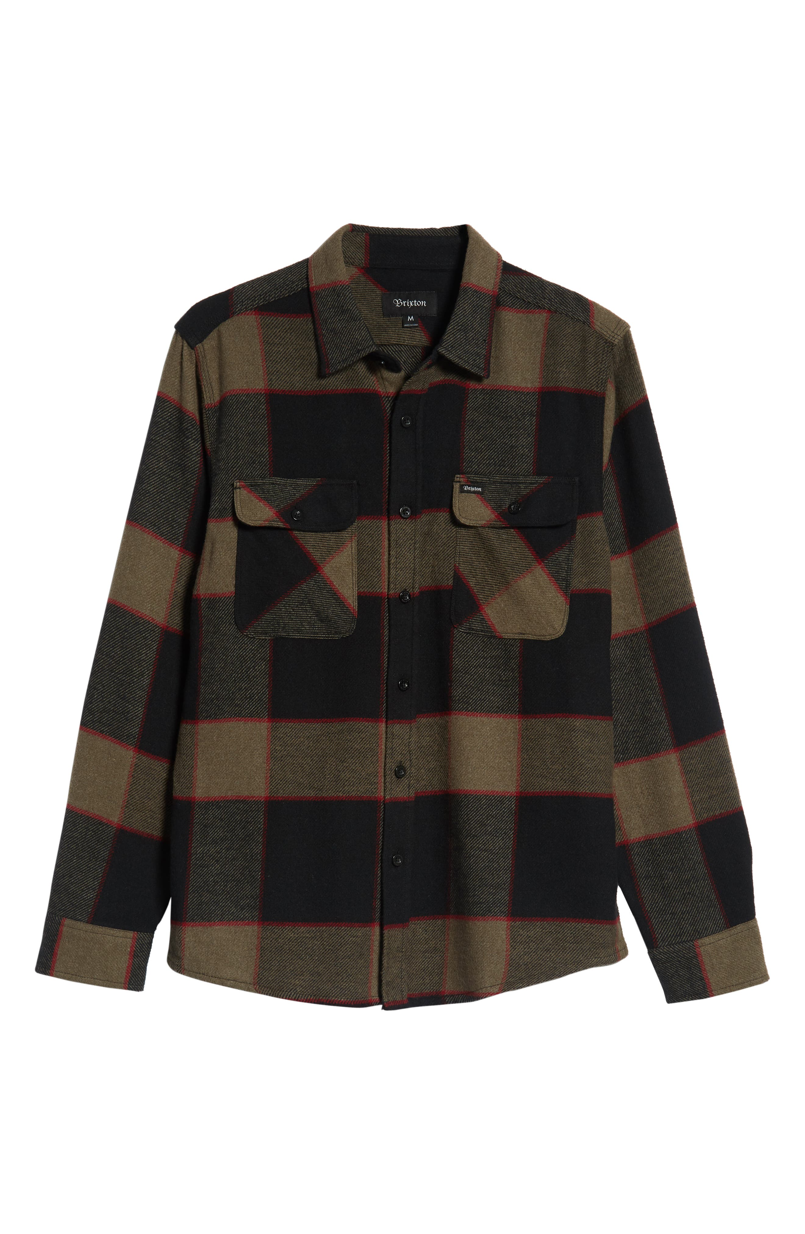 Bowery Flannel Shirt,                             Alternate thumbnail 45, color,