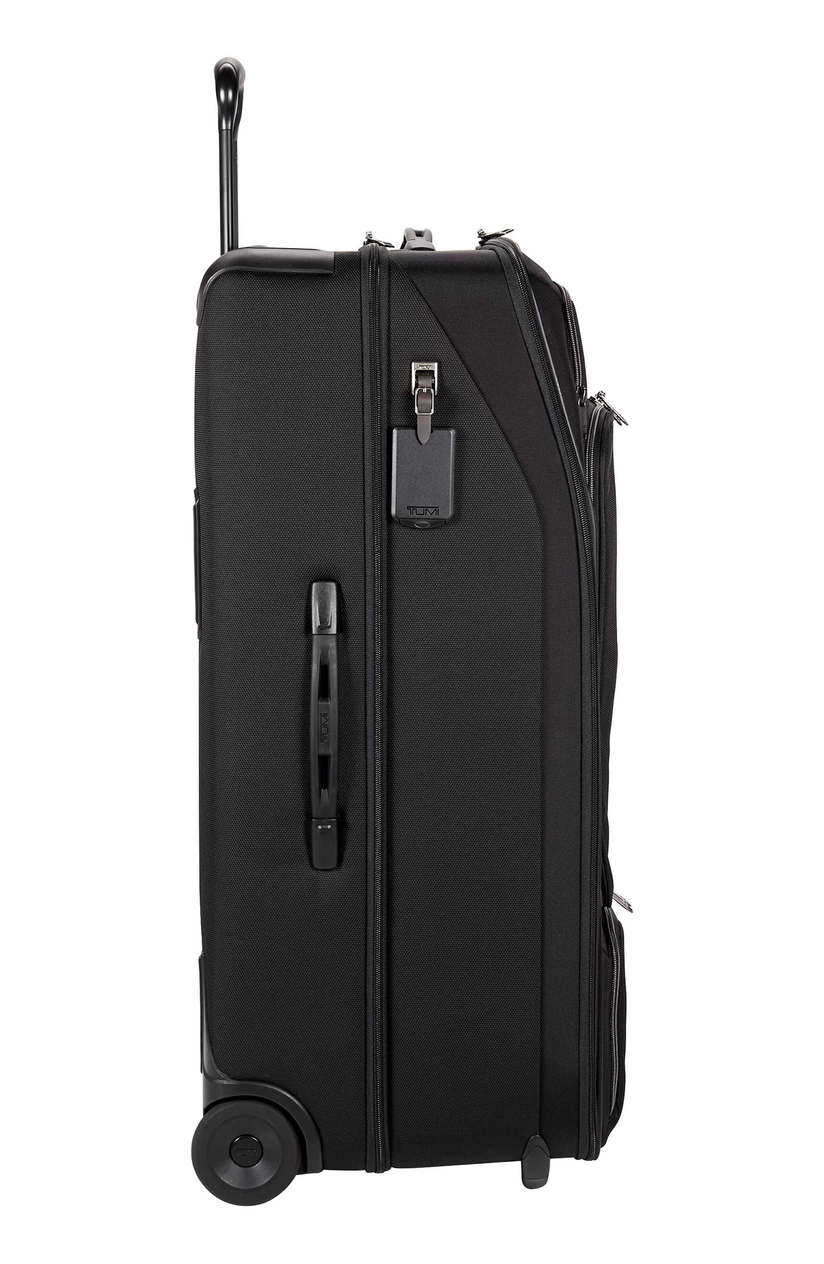 TUMI,                             Merge - 31-Inch Rolling Duffel Bag,                             Alternate thumbnail 4, color,                             BLACK CONTRAST