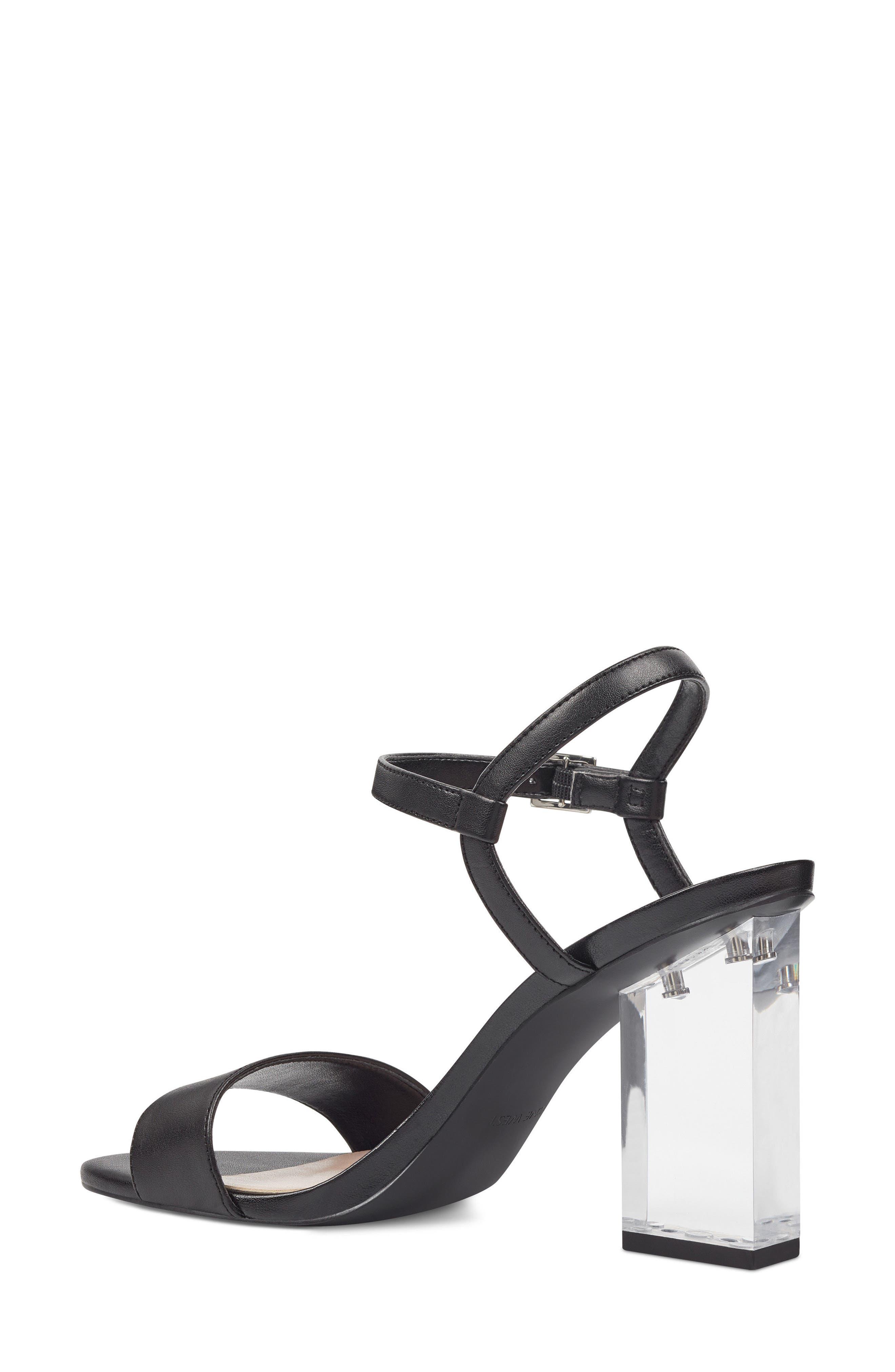 Feisty Ankle Strap Sandal,                             Alternate thumbnail 2, color,                             BLACK SUEDE