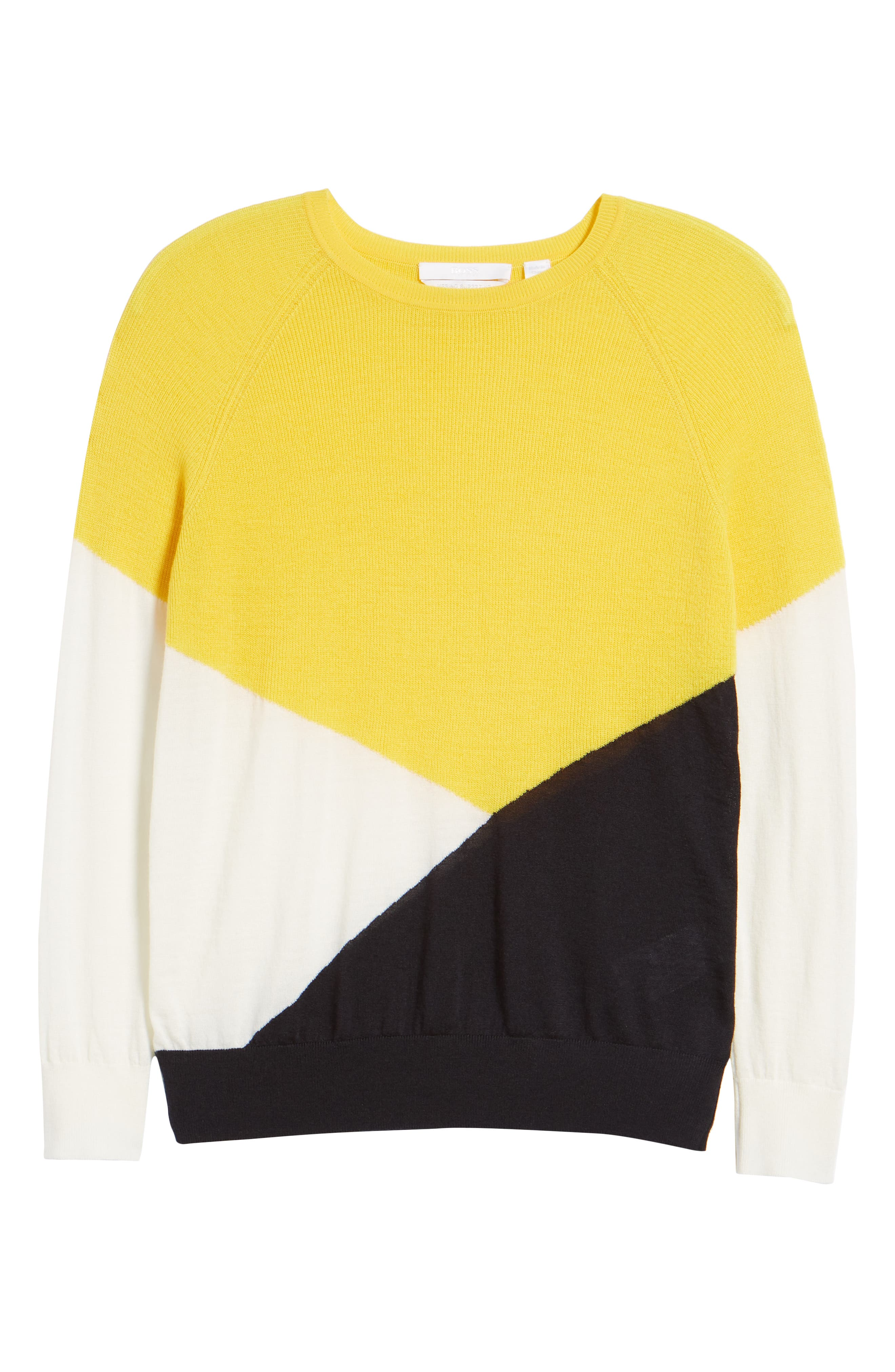 Farrow Colorblock Wool Sweater,                             Alternate thumbnail 6, color,                             768