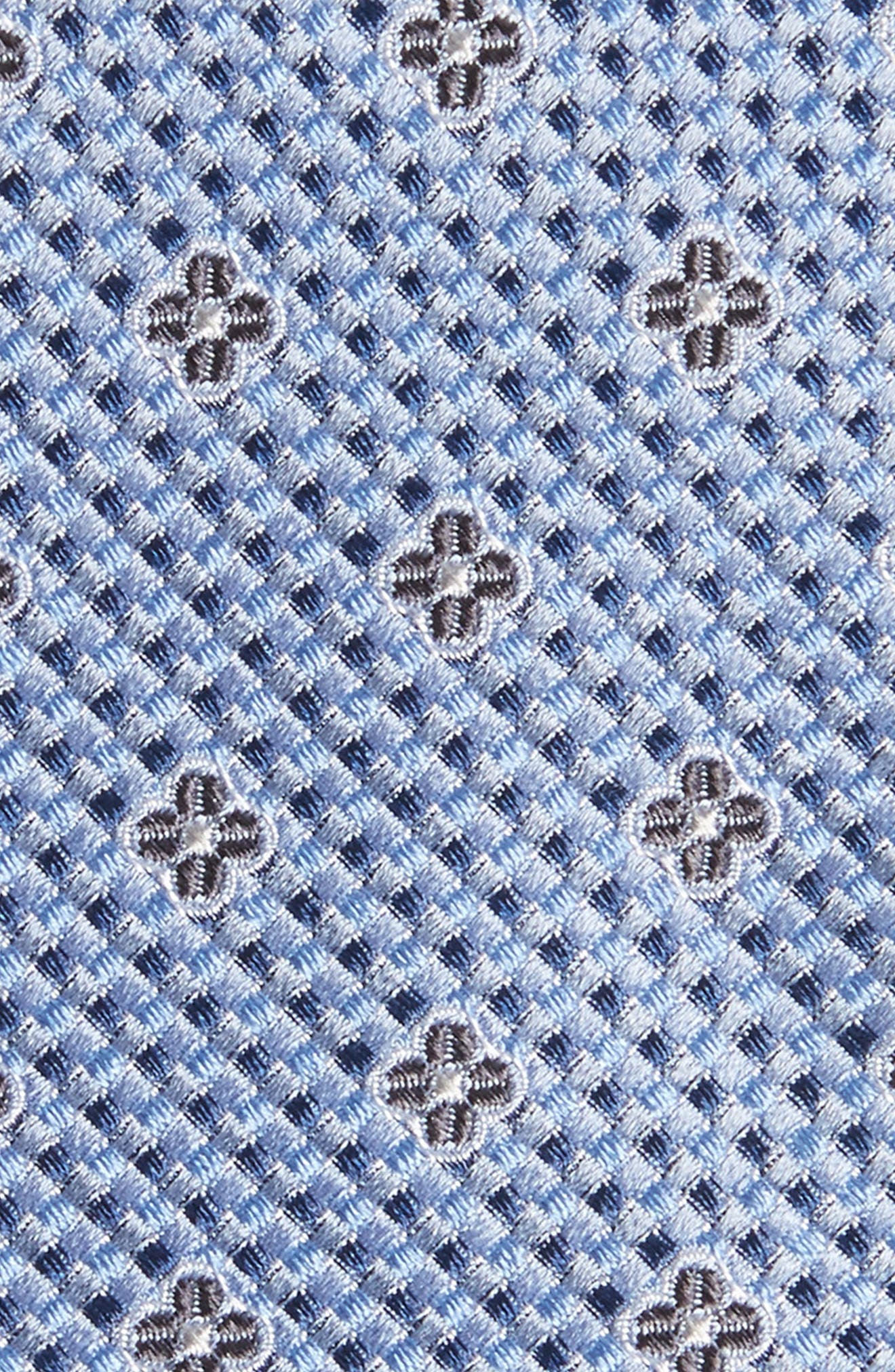 Textured Floral Silk Tie,                             Alternate thumbnail 2, color,                             400