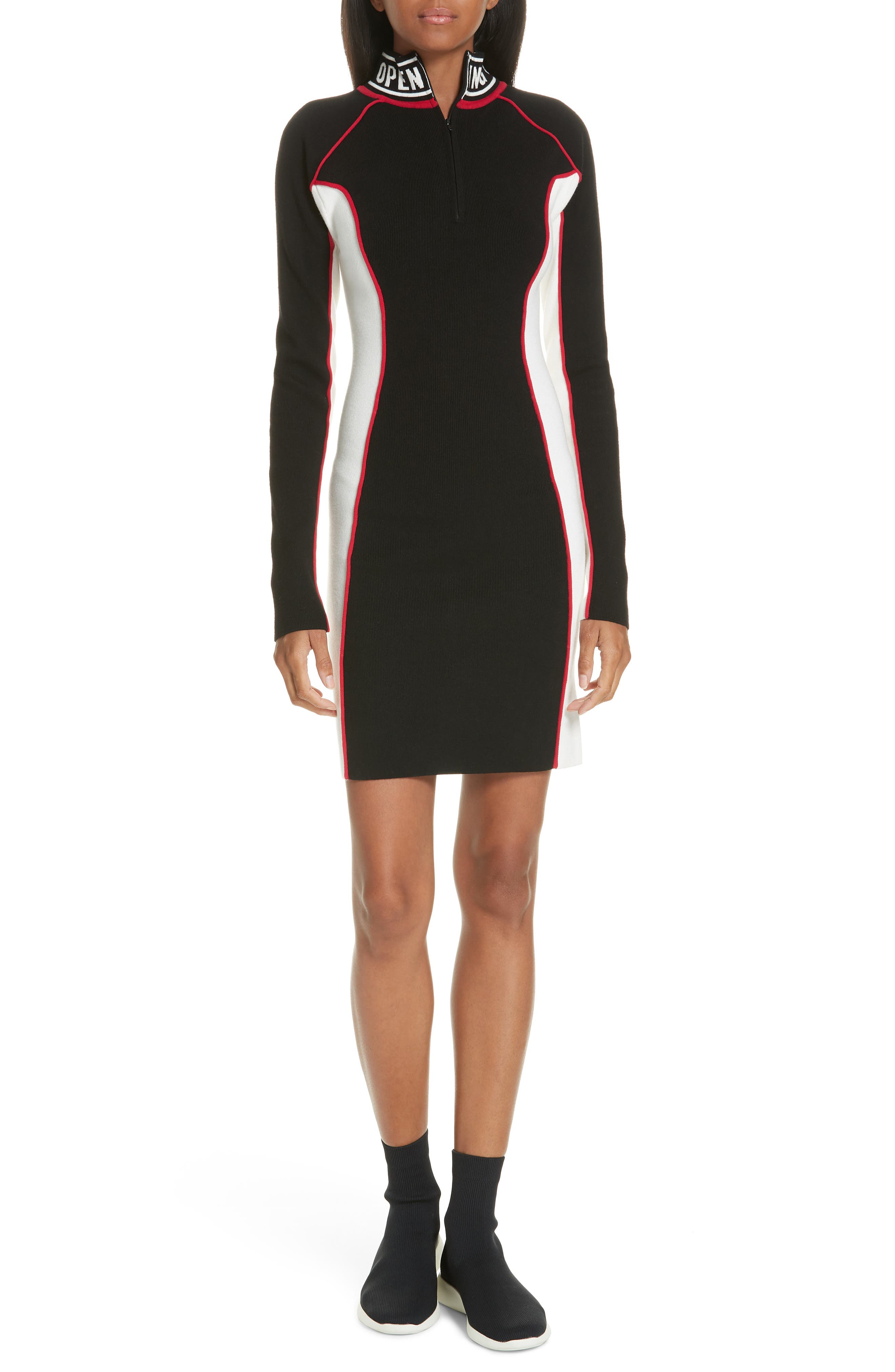 Optic Body Con Dress by Opening Ceremony
