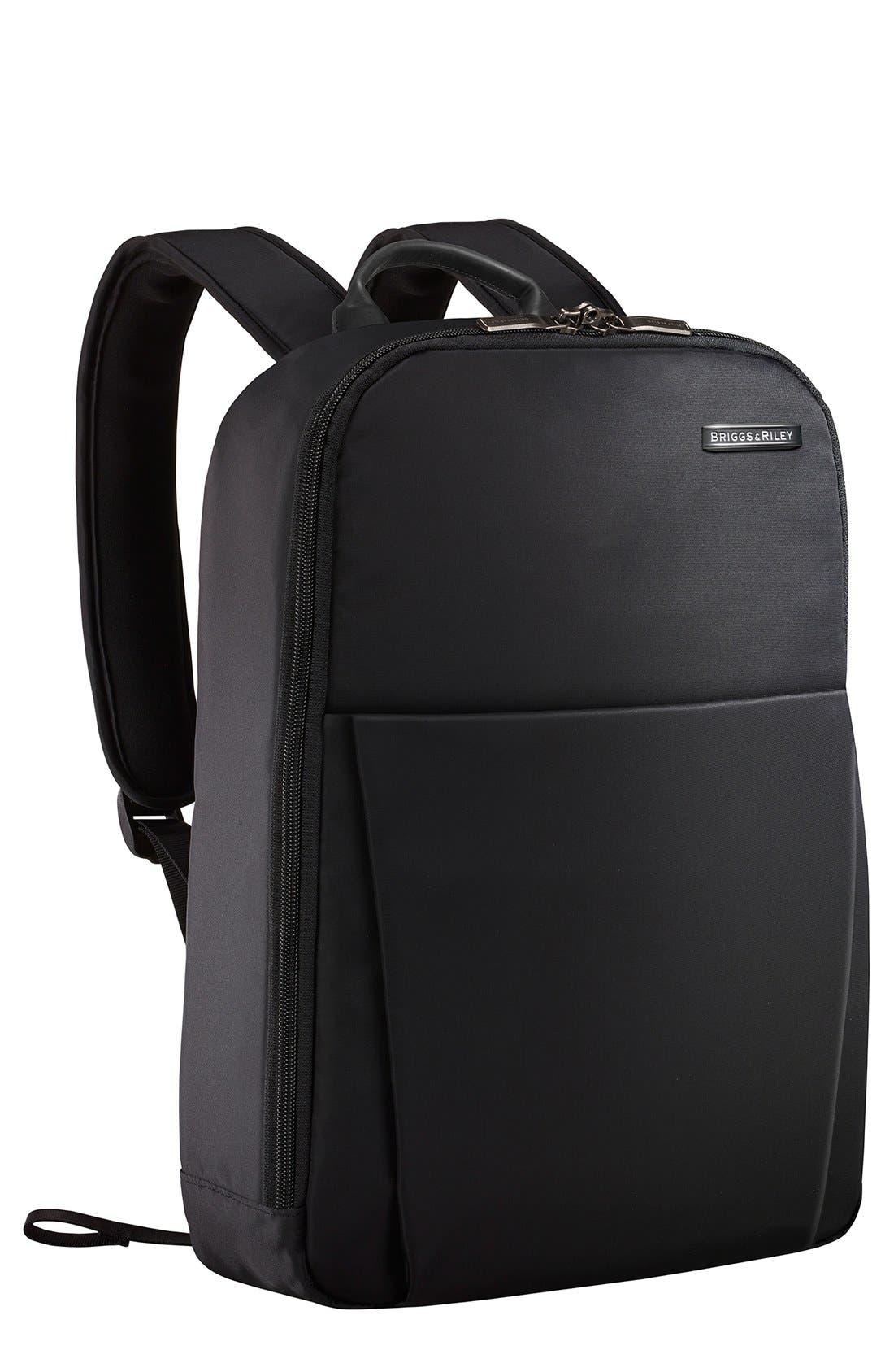 'Sympatico'Backpack,                             Main thumbnail 1, color,                             BLACK