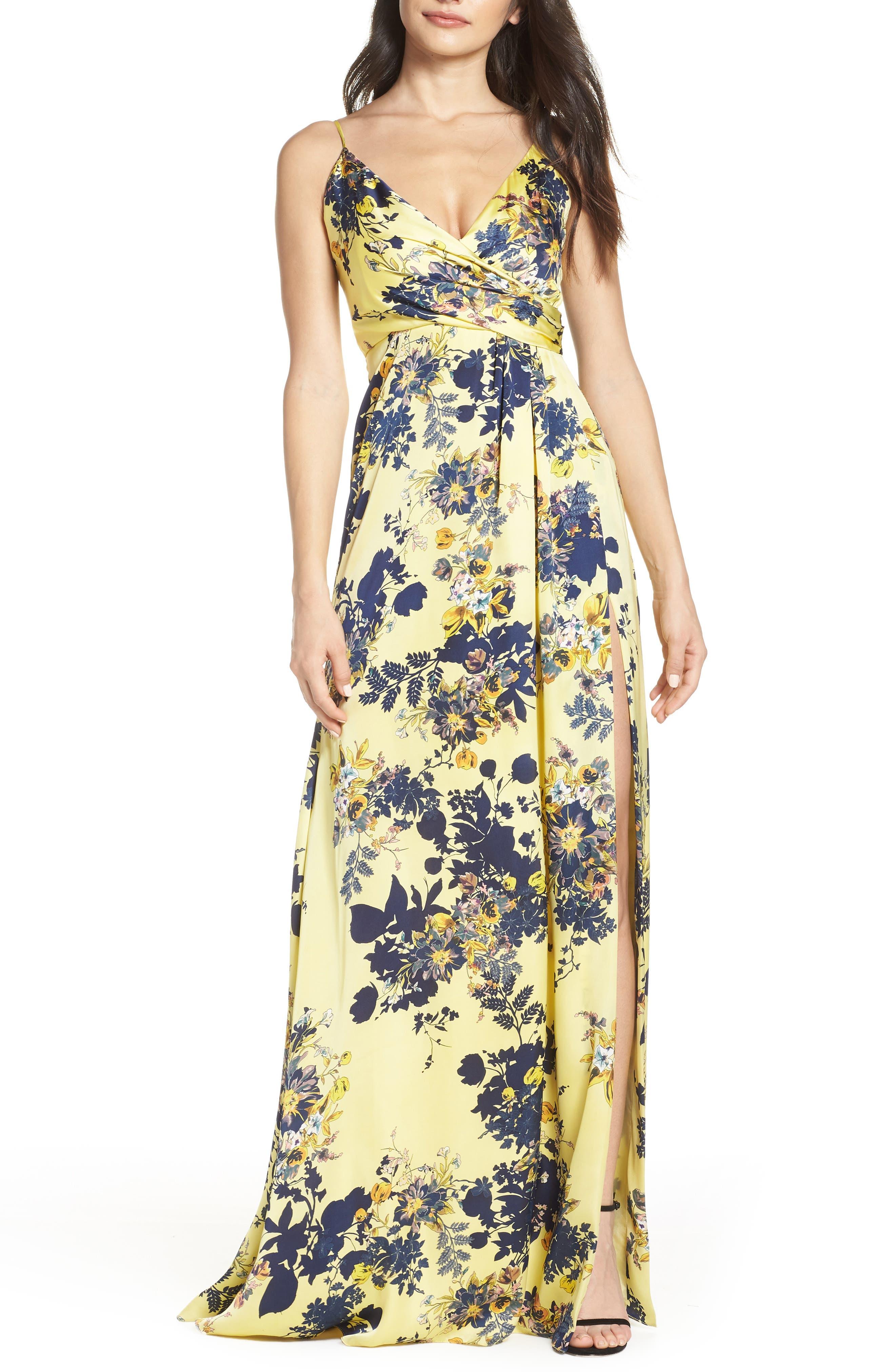 Jill Jill Stuart Dresses FLORAL MAXI DRESS