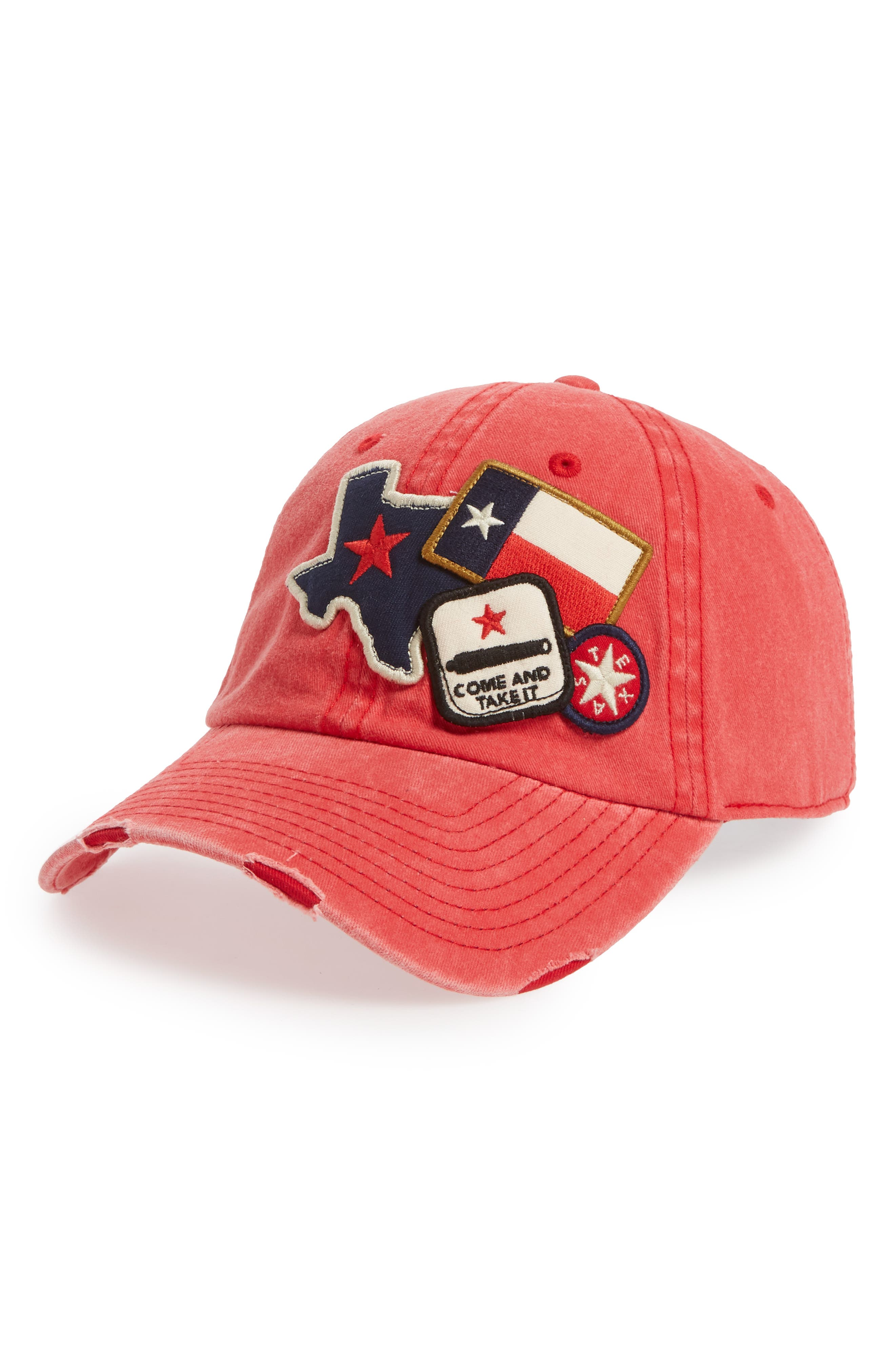 Iconic - Texas Ball Cap,                             Main thumbnail 1, color,                             600