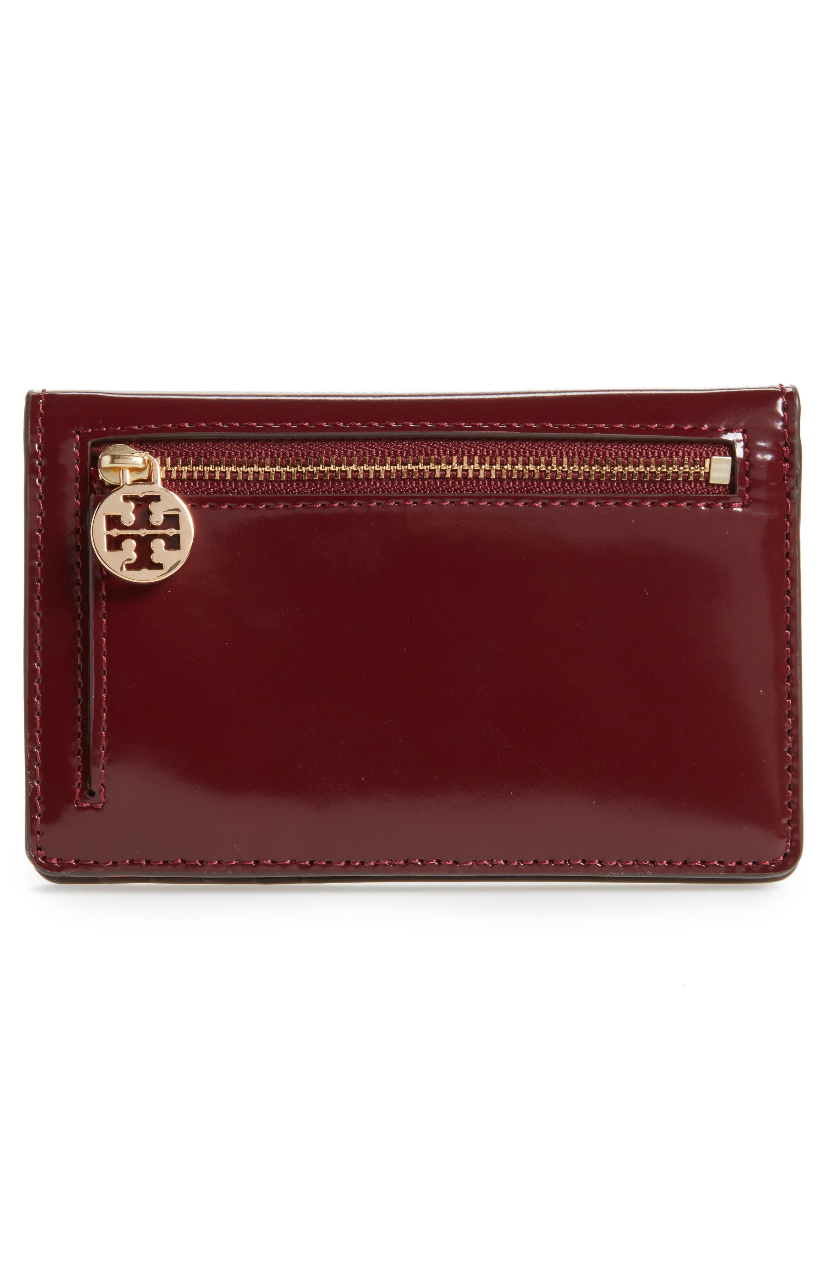 Medium McGraw Dachshund Slim Leather Wallet,                             Alternate thumbnail 4, color,                             600