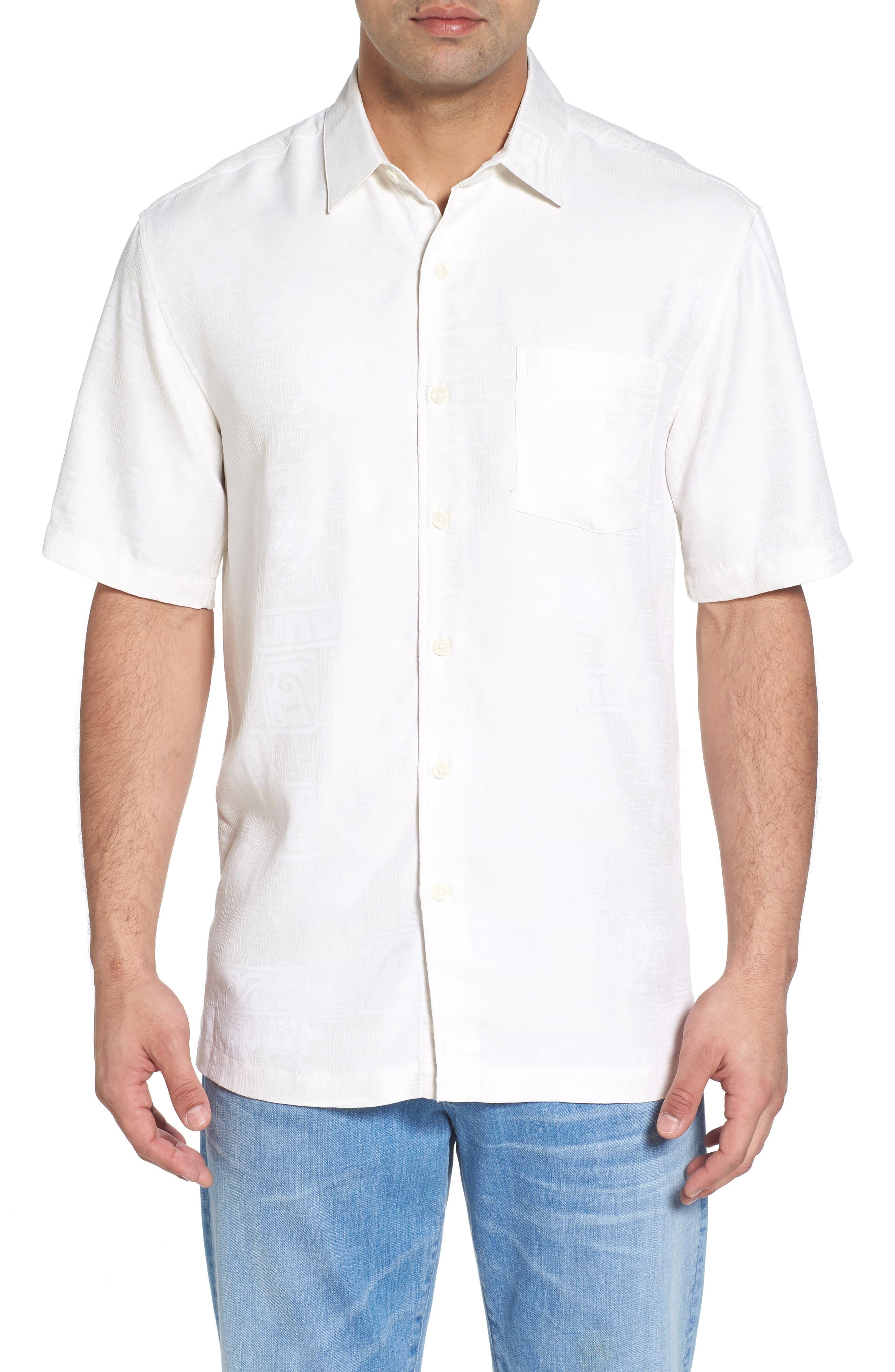 Sea Shells Classic Fit Sport Shirt,                             Main thumbnail 2, color,