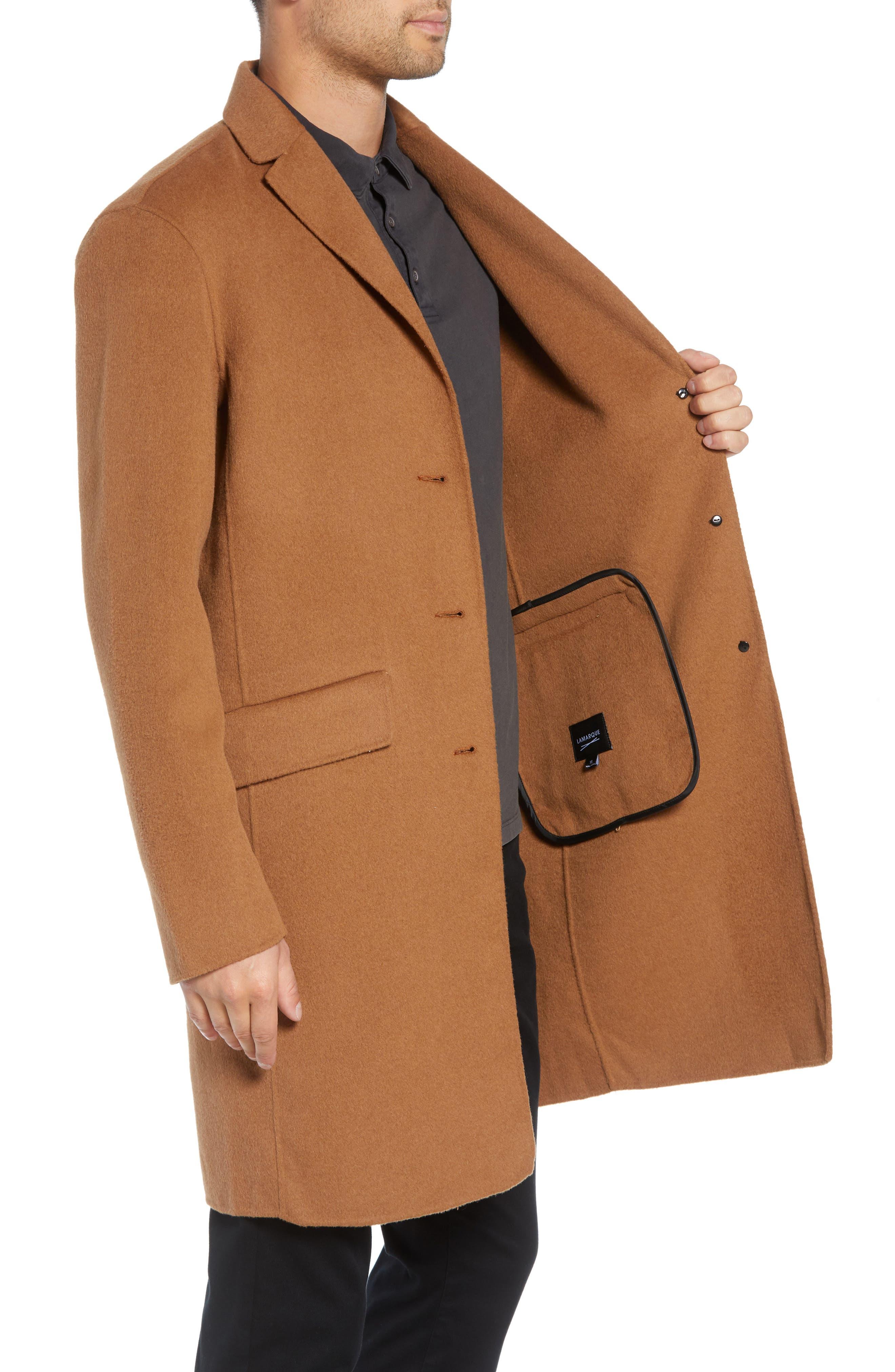 Wool Blend Topcoat,                             Alternate thumbnail 8, color,