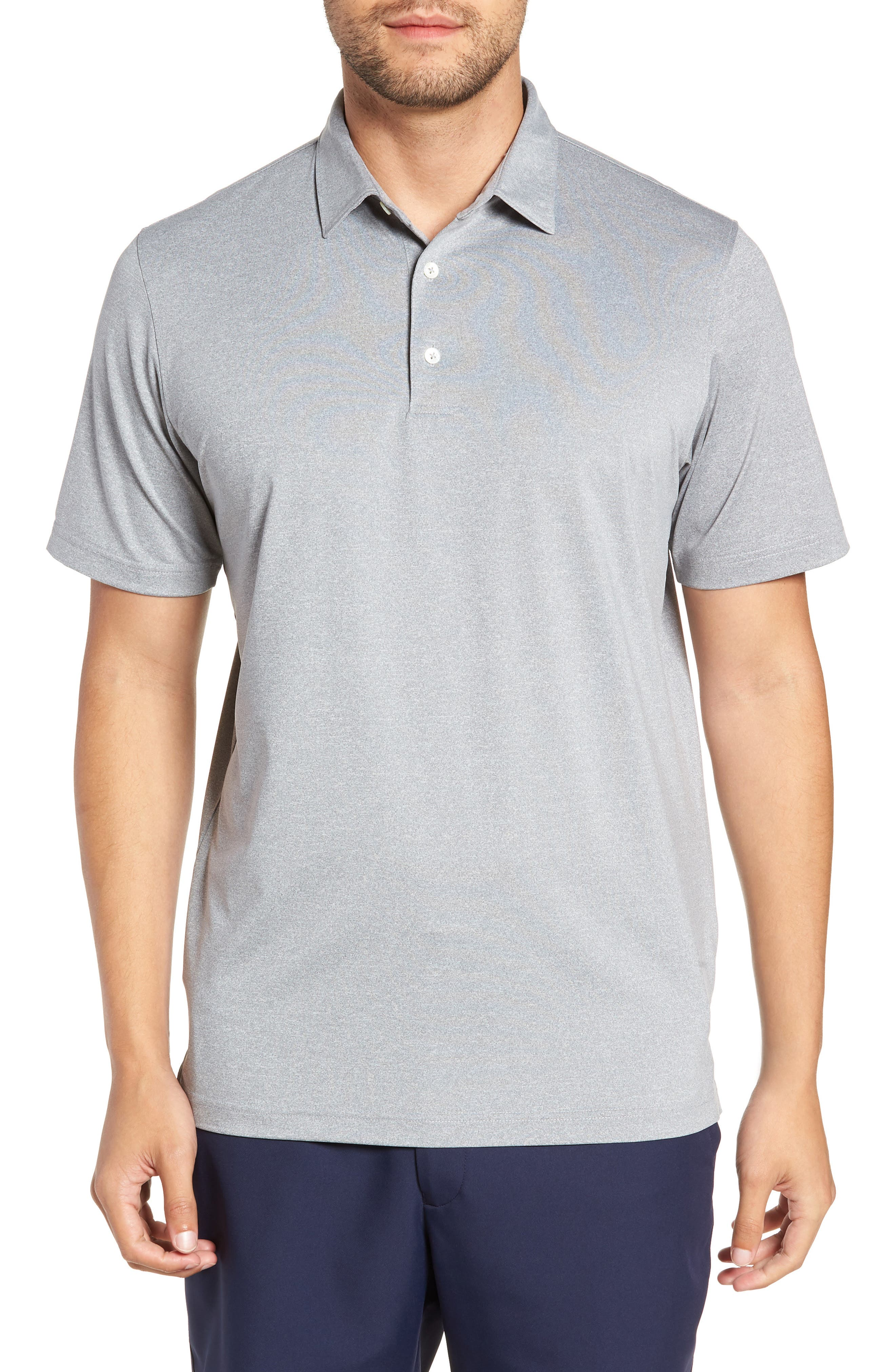 Birdie Classic Fit Performance Polo,                             Main thumbnail 1, color,                             METEOR